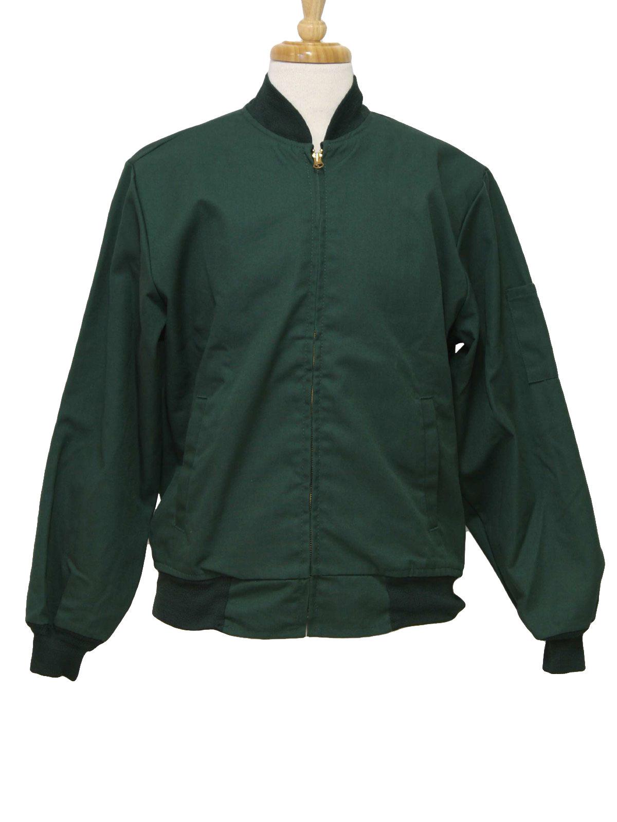 Green Work Jacket - JacketIn