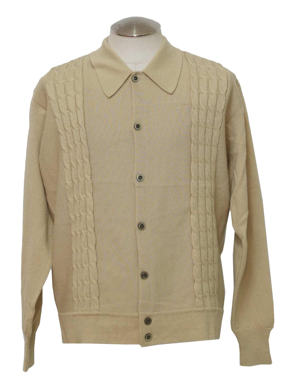 Racquet Club 70's Vintage Caridgan Sweater: 70s -Racquet Club ...