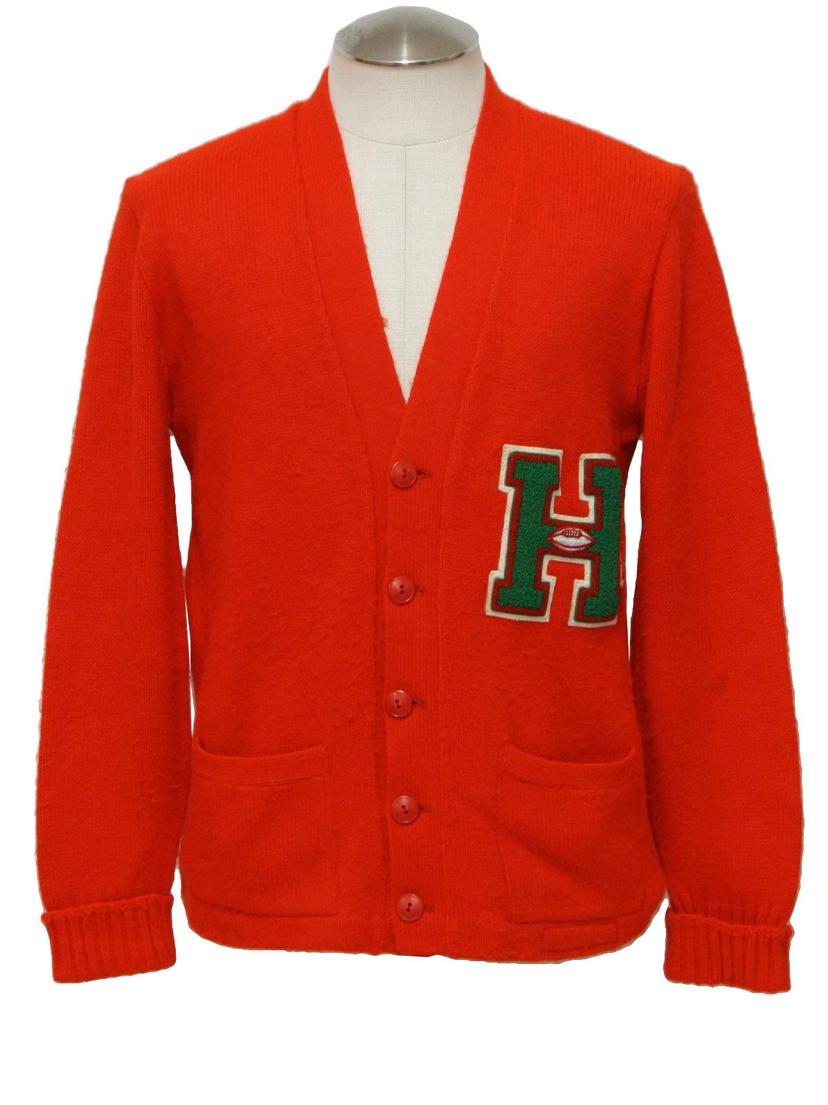 Vintage Miami Knitting Mills 1960s Caridgan Sweater: 60s -Miami ...