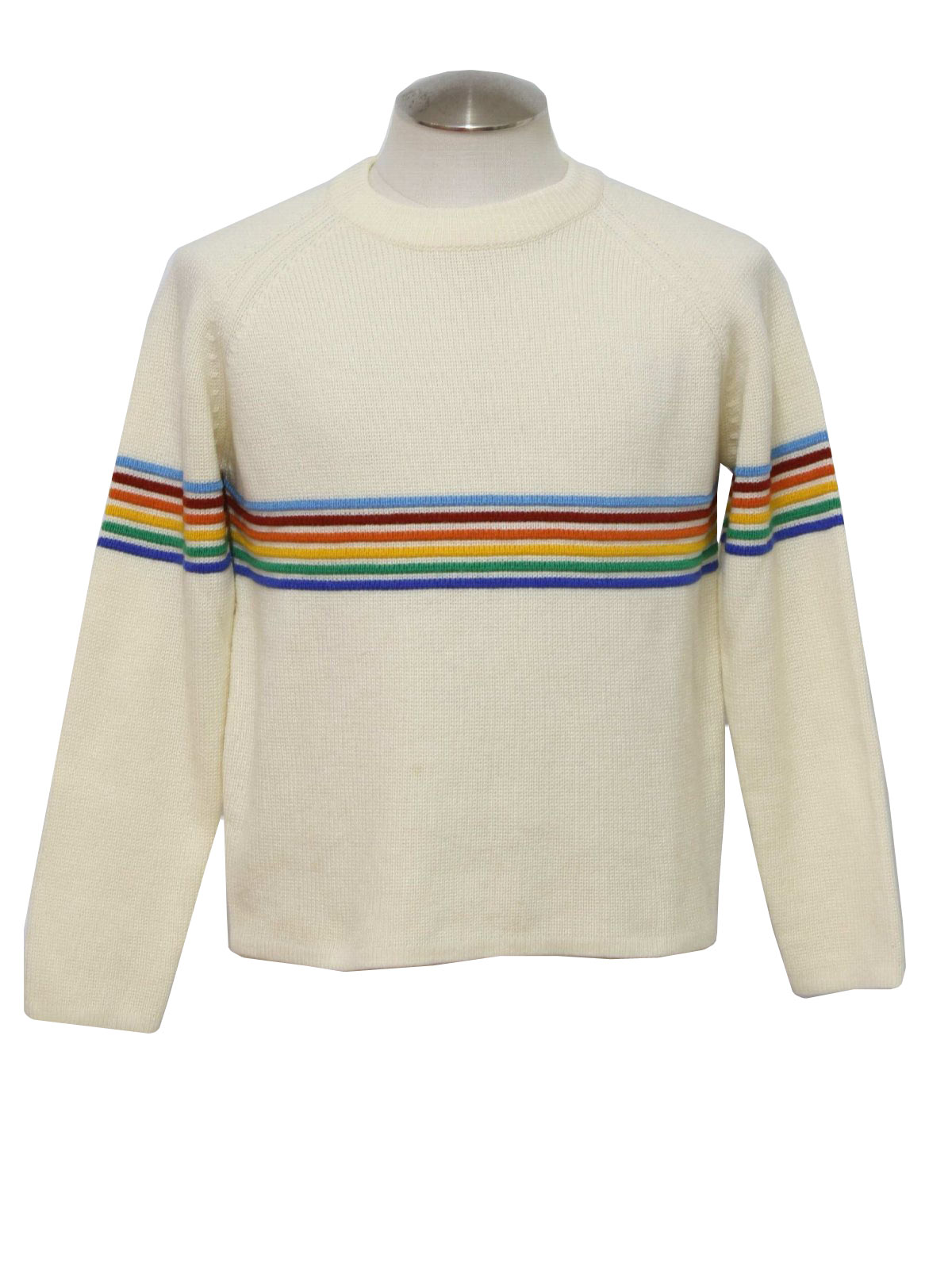 Blue And Yellow Striped Sweater Her Sweater