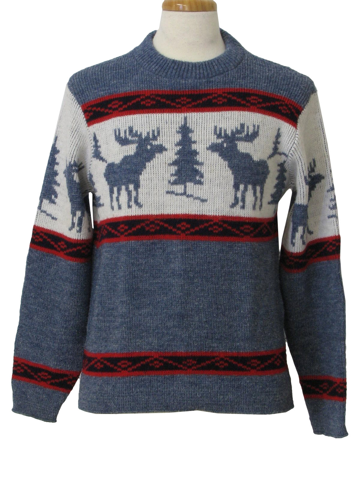 Mens Red Sweater