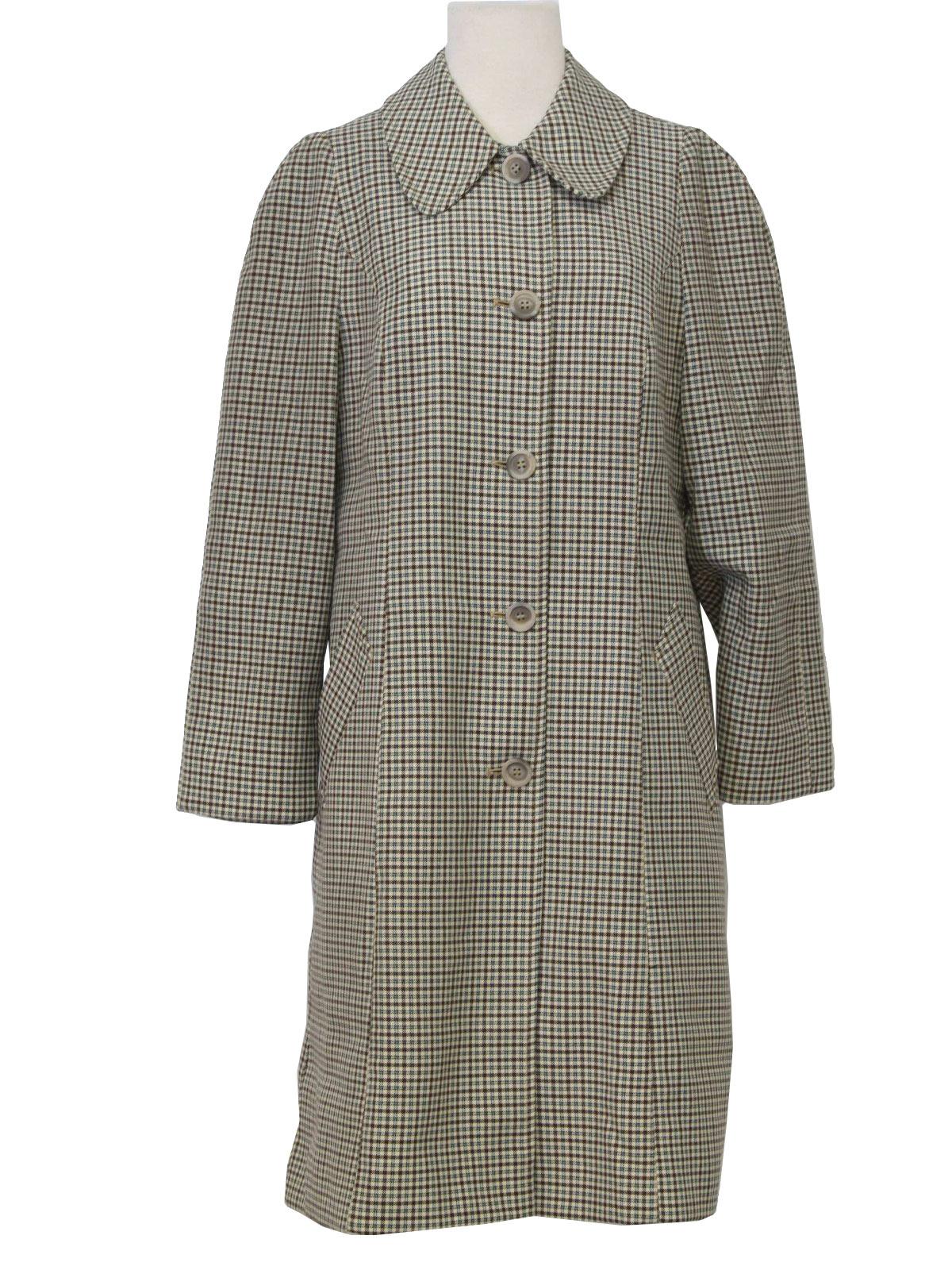 Vintage London Fog 1960s Jacket: 60s -London Fog- Mens white