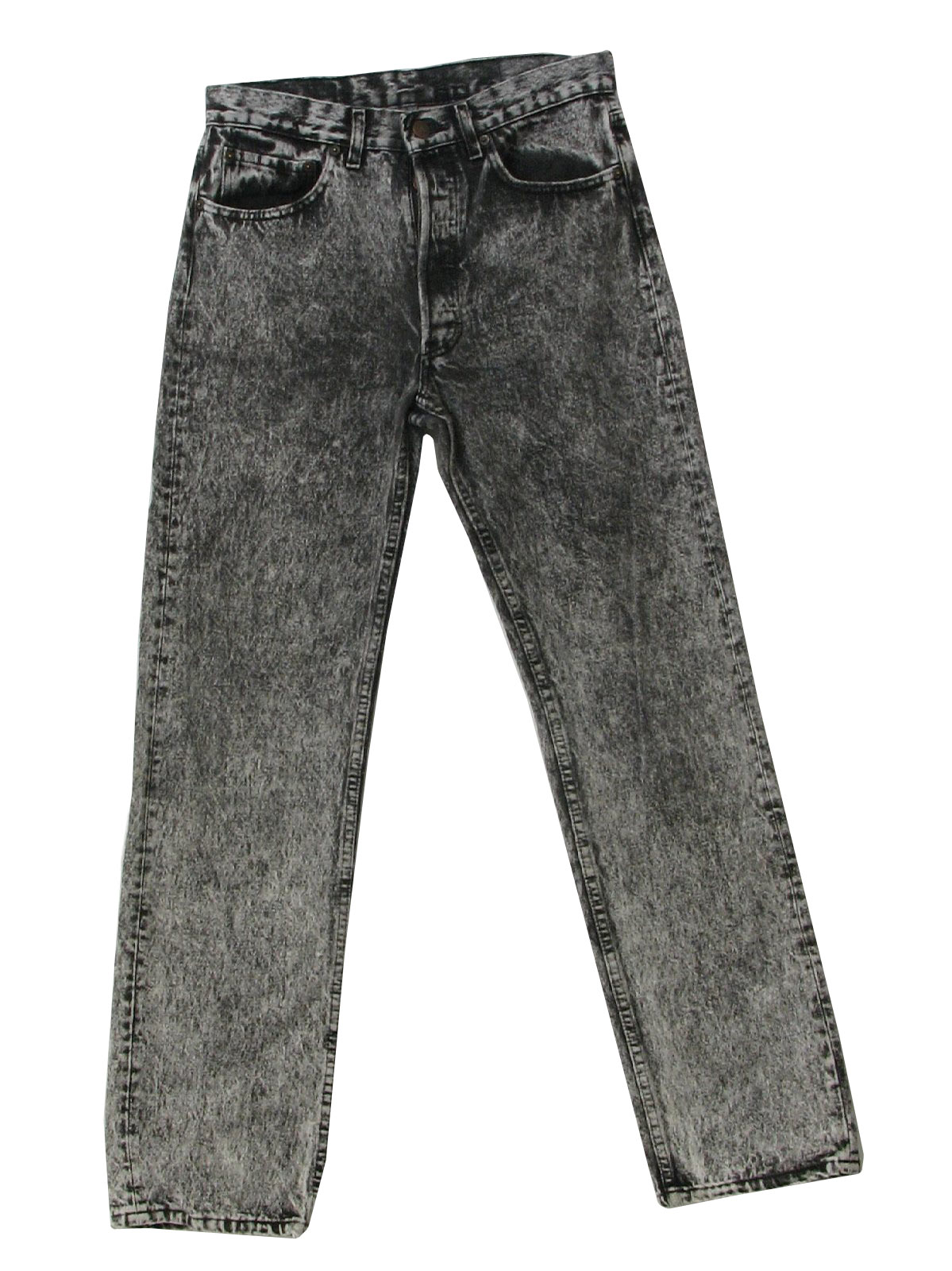 Mens Acid Wash Skinny Jeans