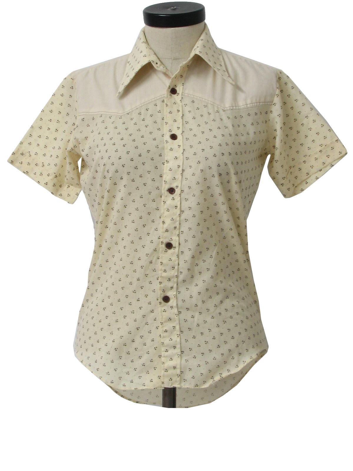 1970 39 s vintage kmart western shirt 70s kmart womens off for Kmart button up shirts