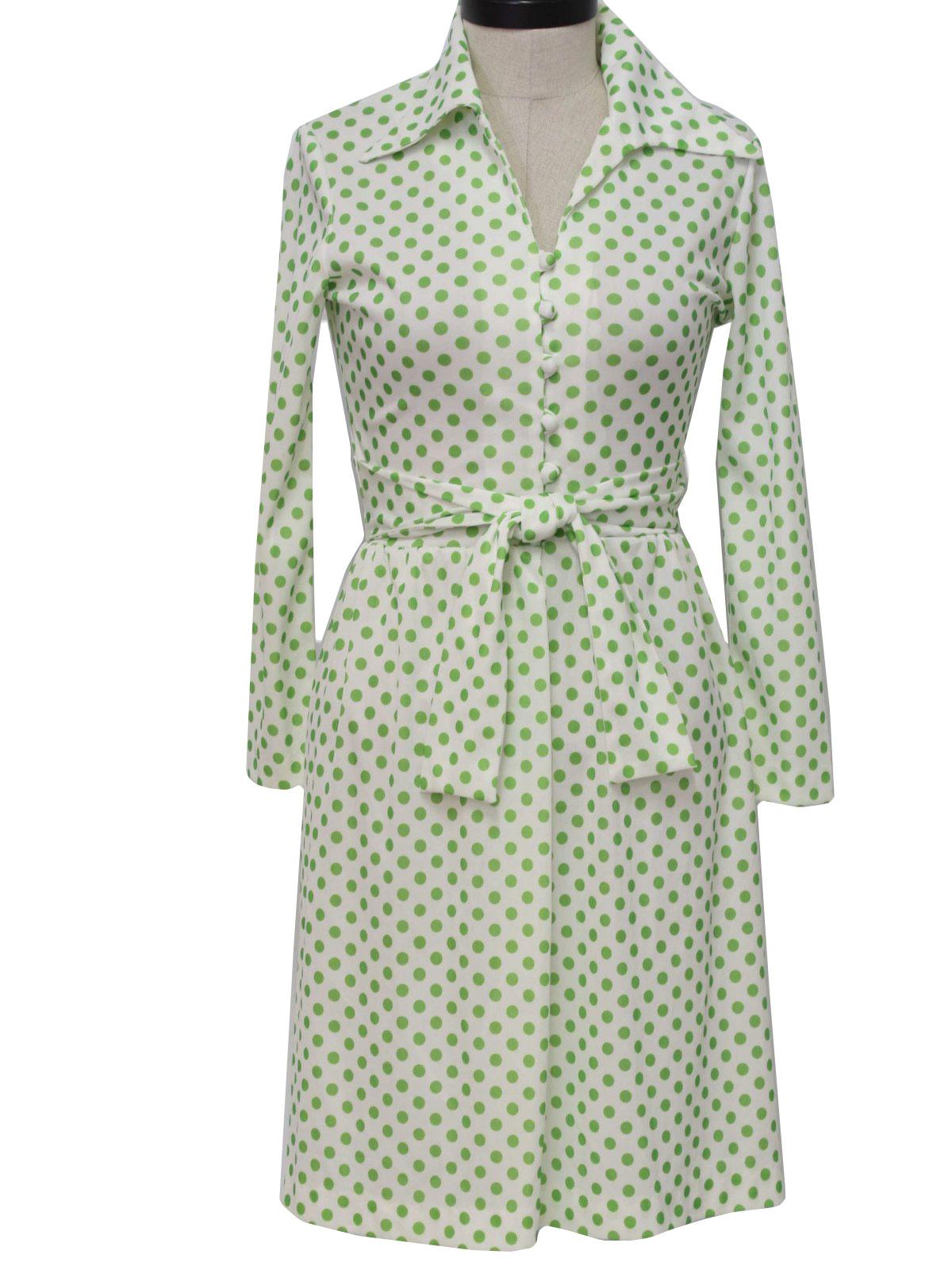 Care Label 70's Vintage Dress: 70s -Care Label- Womens ...