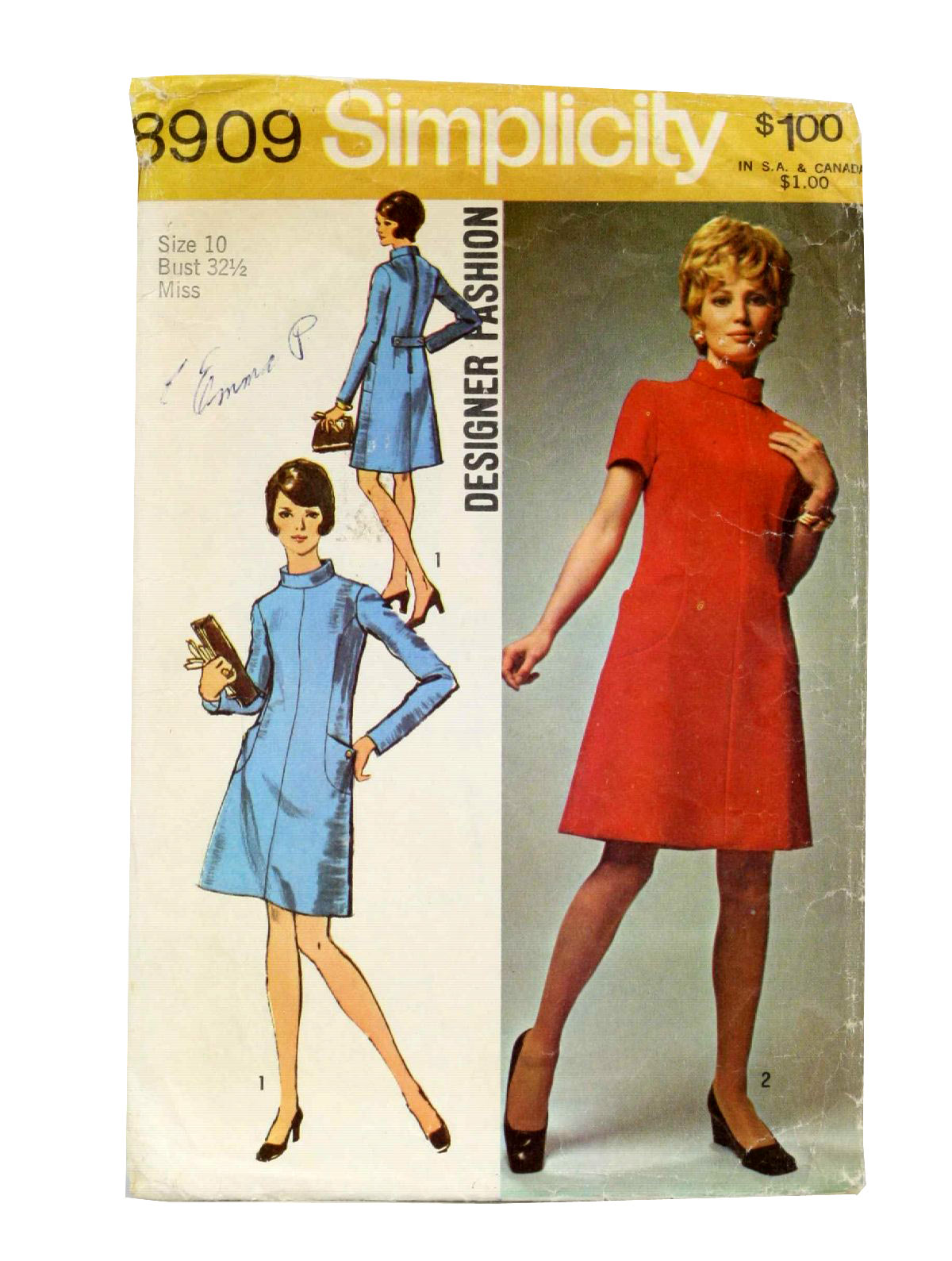 Simple 1970 Fashion Women 197039s Pants Pattern