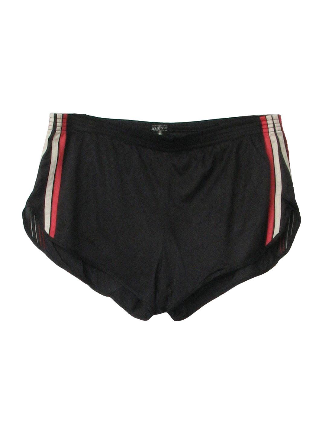 Eighties Sub 4 Shorts 80s Sub 4 Mens Well Worn Black