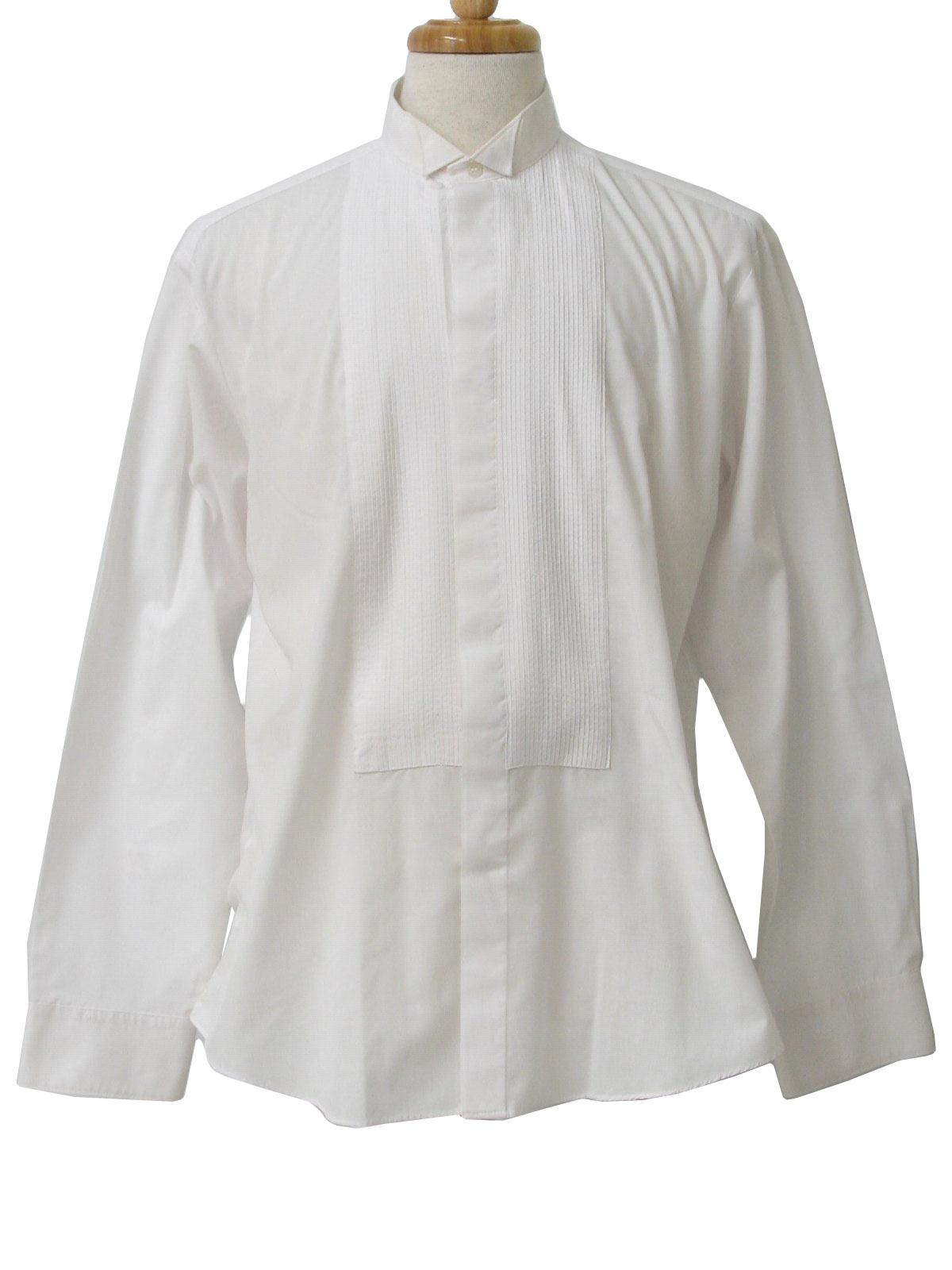 Retro 1980s Shirt Monte Carlo 80s Monte Carlo Mens White