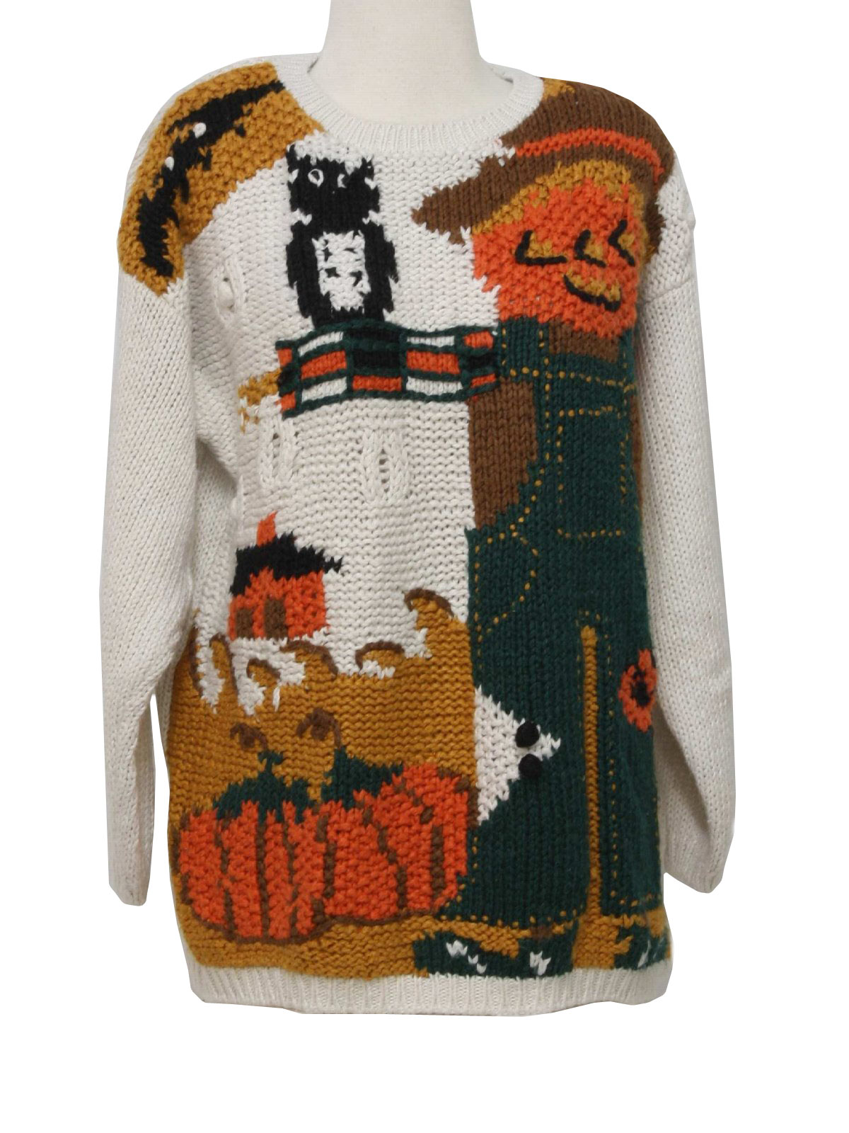 1990's Colleens Collectables Womens Kitschy Cheesy Ugly Halloween Sweater