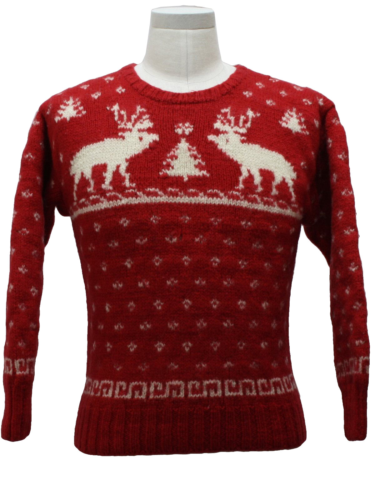 Childs Classic Reindeer Ugly Christmas Sweater: -Marco Pecci ...