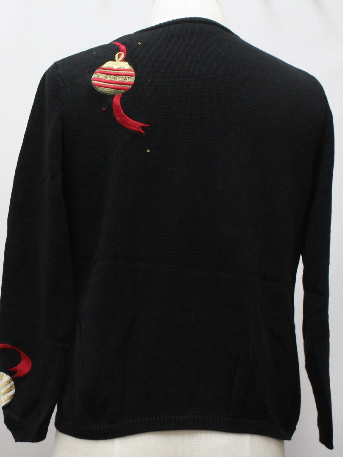 Womens Ugly Christmas Sweater: -Nordstrom- Womens black background ...