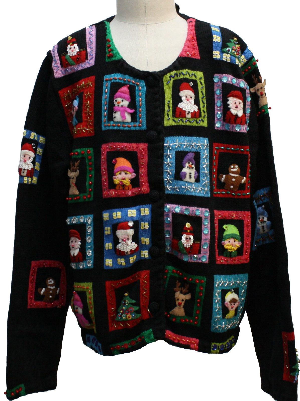 Michael Simon Womens/Girls Ugly Christmas Sweater $32.00 Not in stock. Item No. 229438