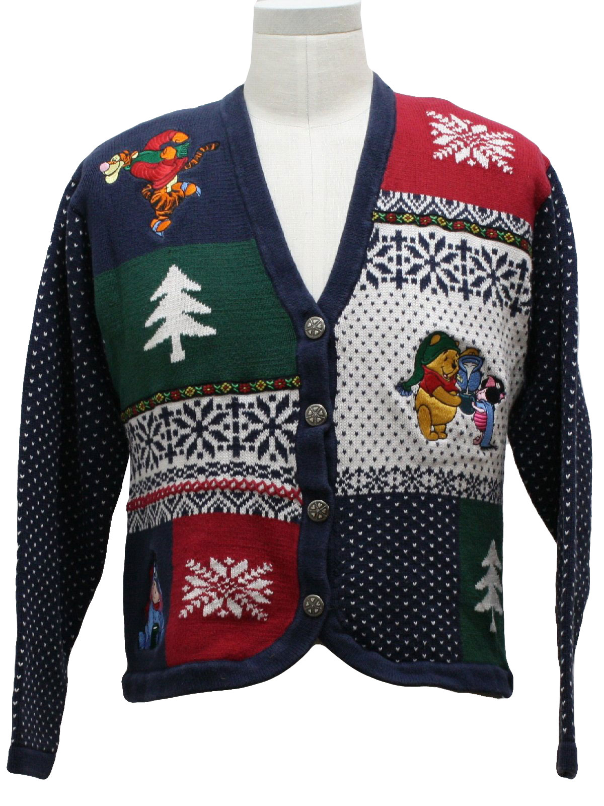 Womens Ugly Christmas Sweater: -Disney Store- Womens blue ...