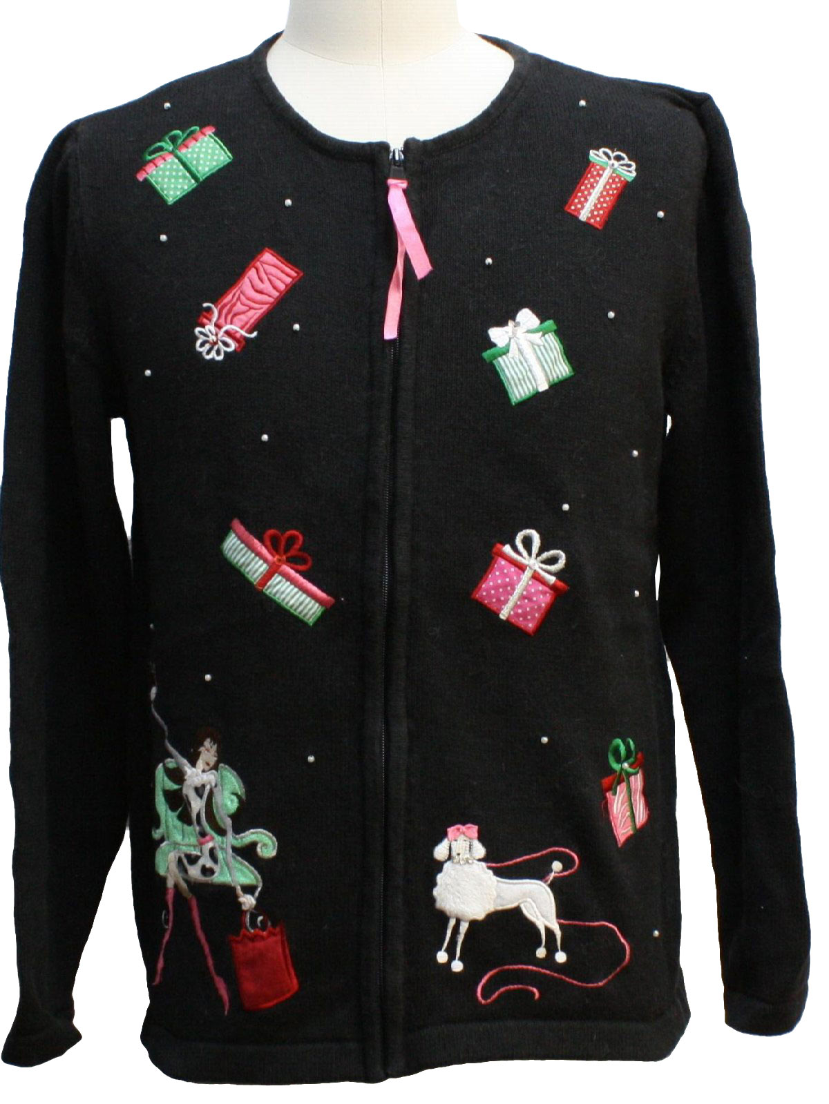 Womens Dog Gonnit Ugly Christmas Sweater Merry And