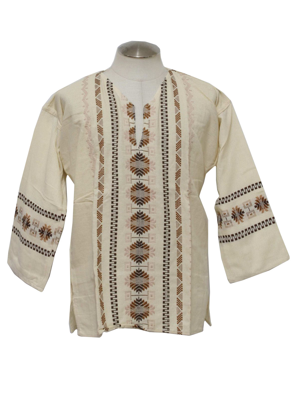 70 39 S Hippie Shirt 70s Reproduction Made New Recently