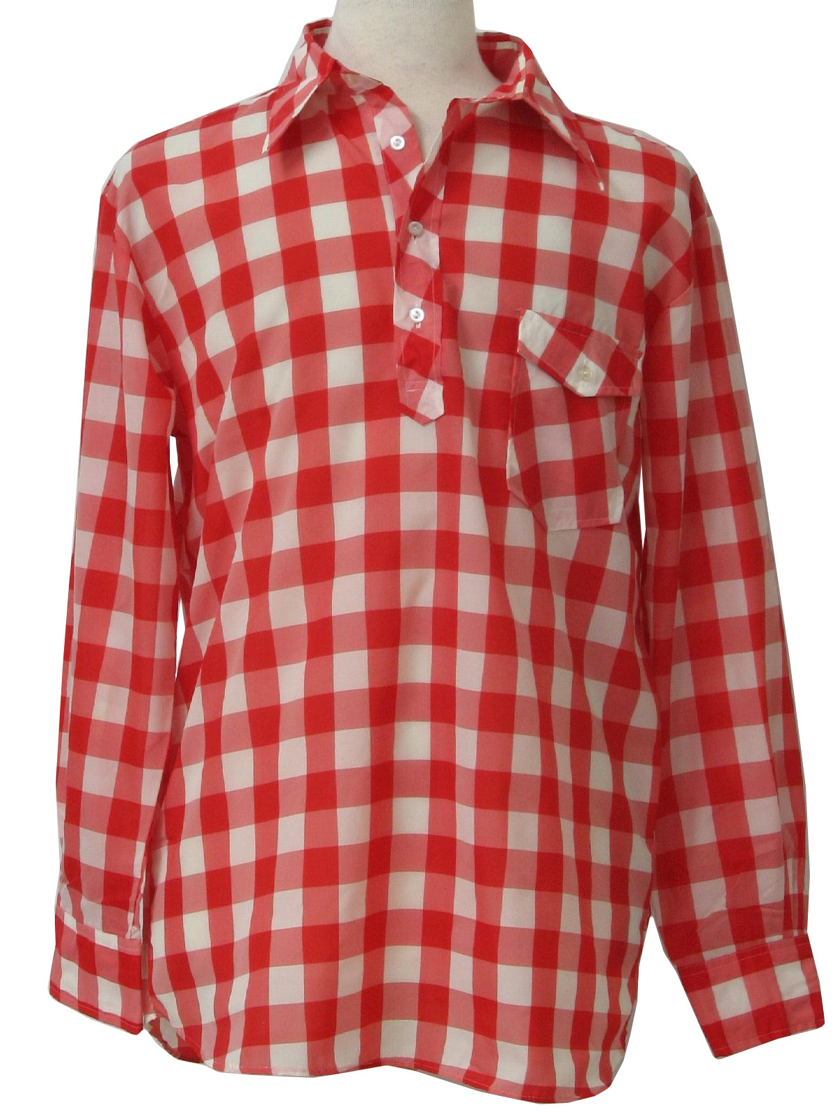 red and white checkered shirt images