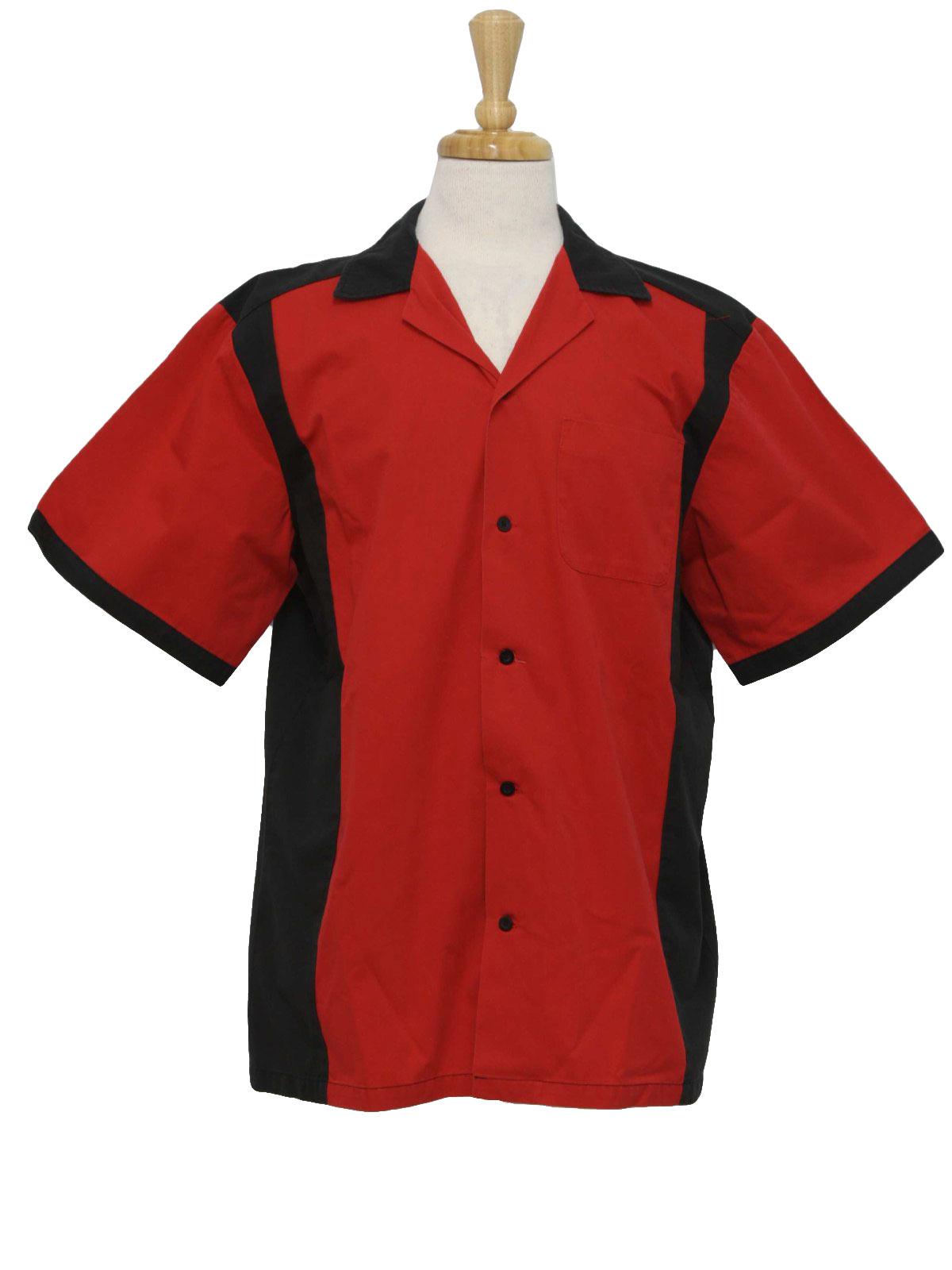 Mens Vintage Bowling Shirts