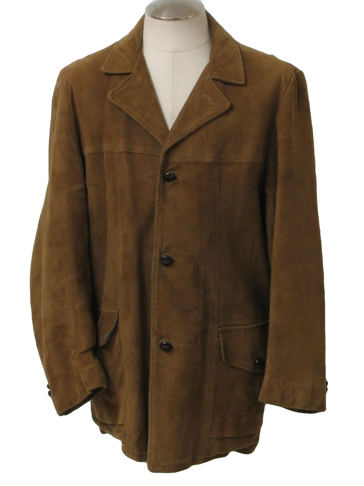 Brown Long Jacket - My Jacket