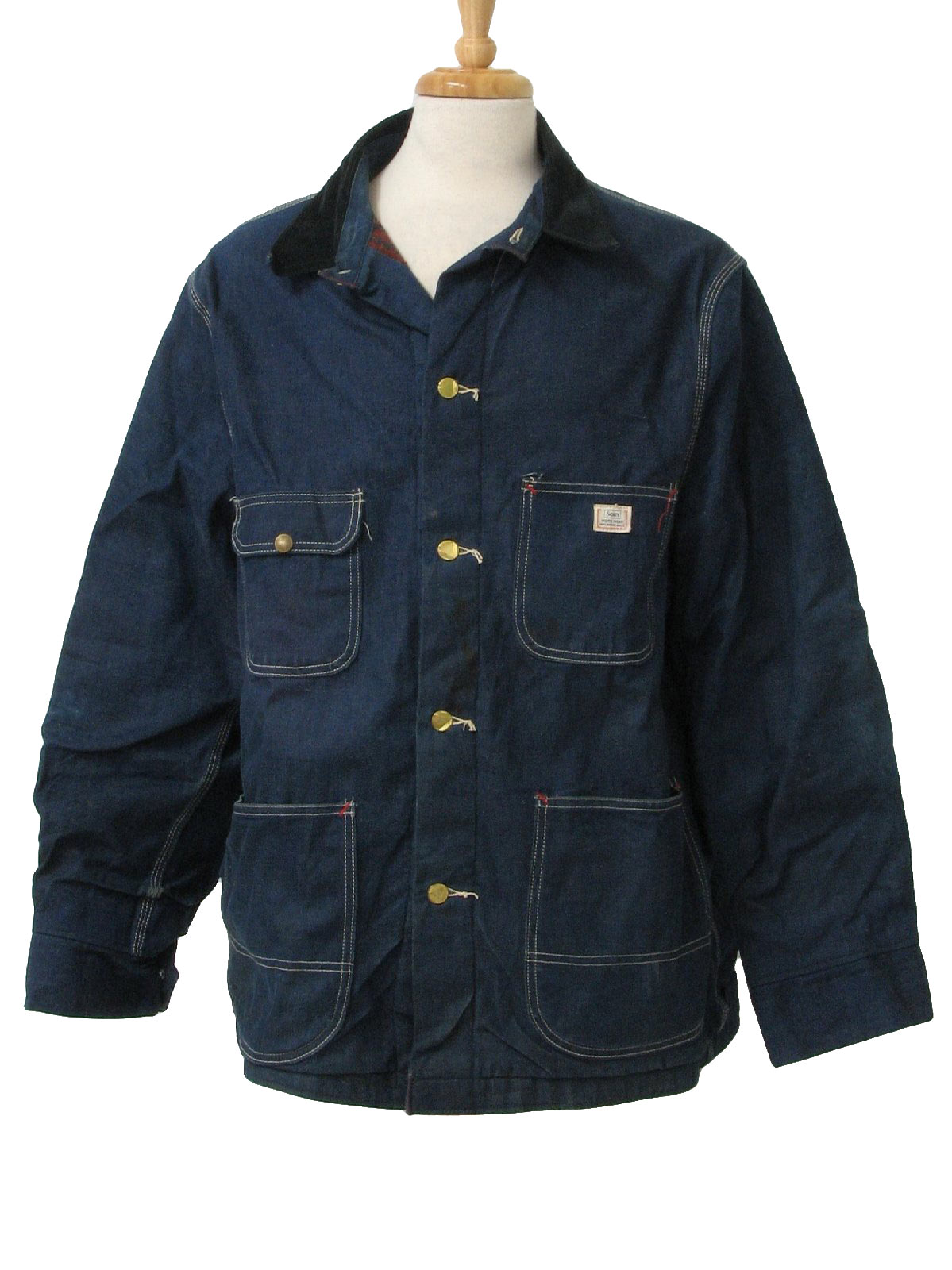 Retro 60's Jacket: Early 60s -Sears Workwear- Mens well ... | 1199 x 1600 jpeg 203kB