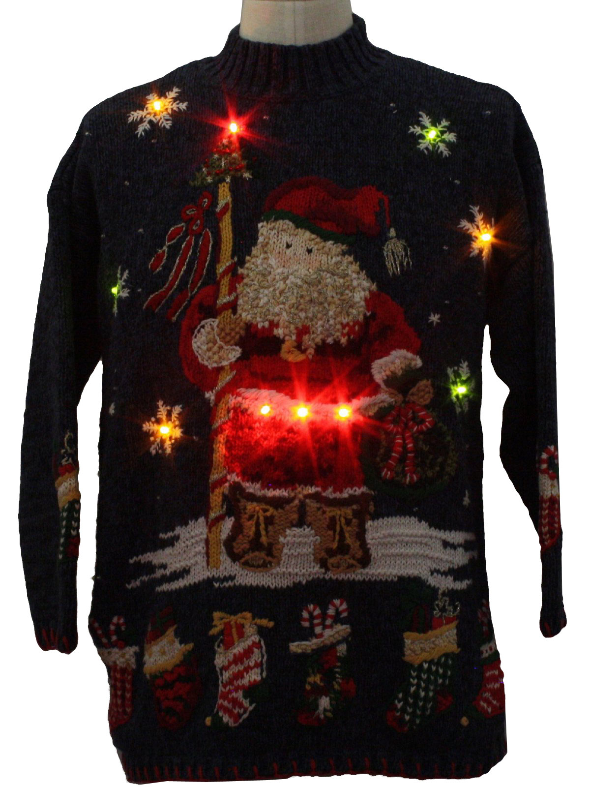 While the suggestions below were great ones a few years back when the selection of big & tall men's Christmas sweaters was almost nonexistent, the good news is companies finally stepped up to the plate and offer some hideous ugly Christmas sweaters in big & tall sizes.
