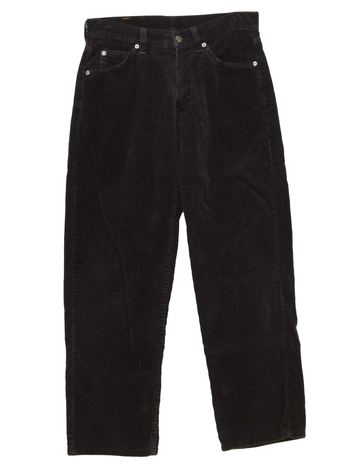 Retro 1990's Pants (Levis) : 90s -Levis- Mens black cotton ...