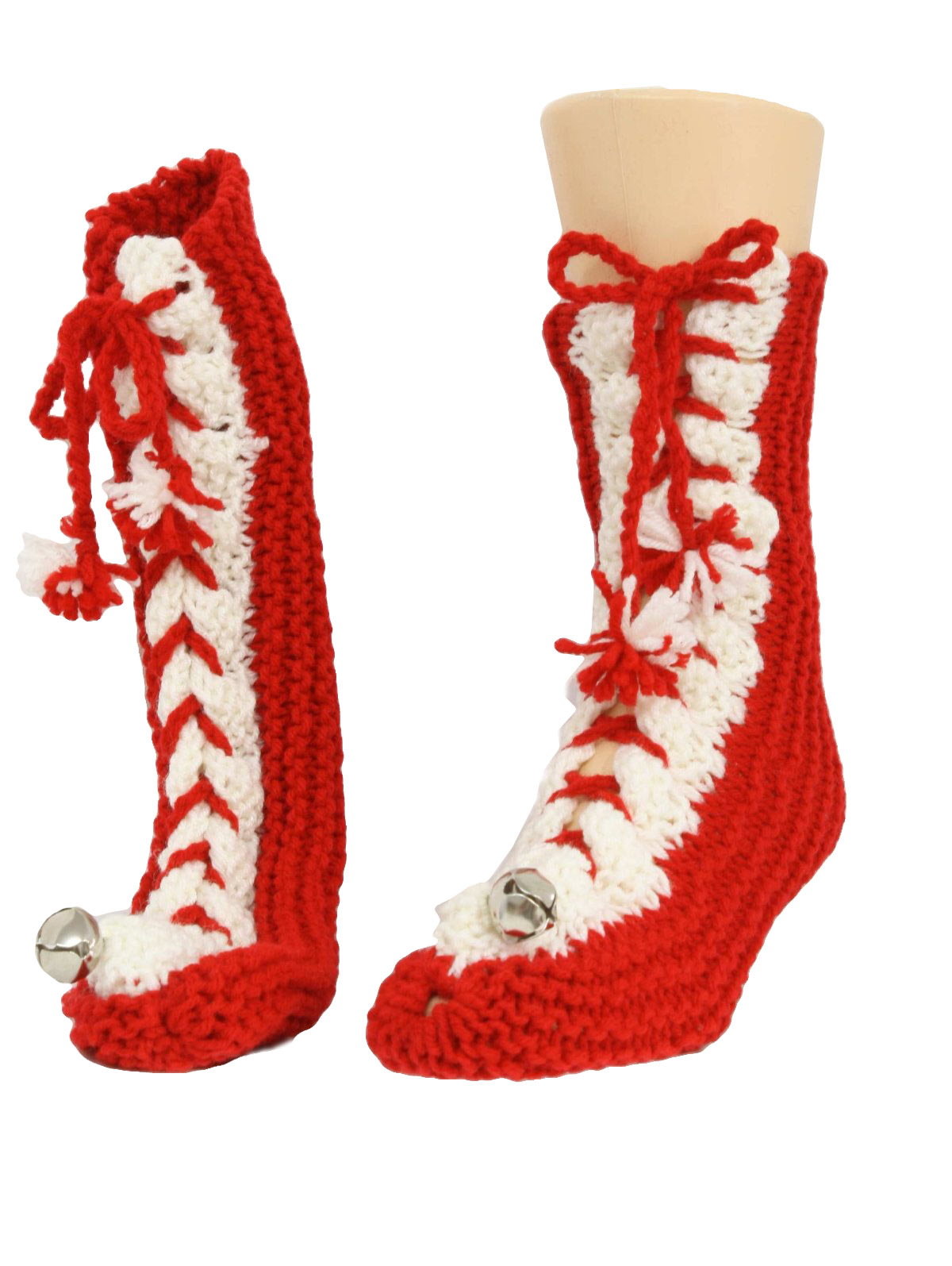 Eighties Ugly Christmas Slippers to Go With Your Ugly Christmas ...