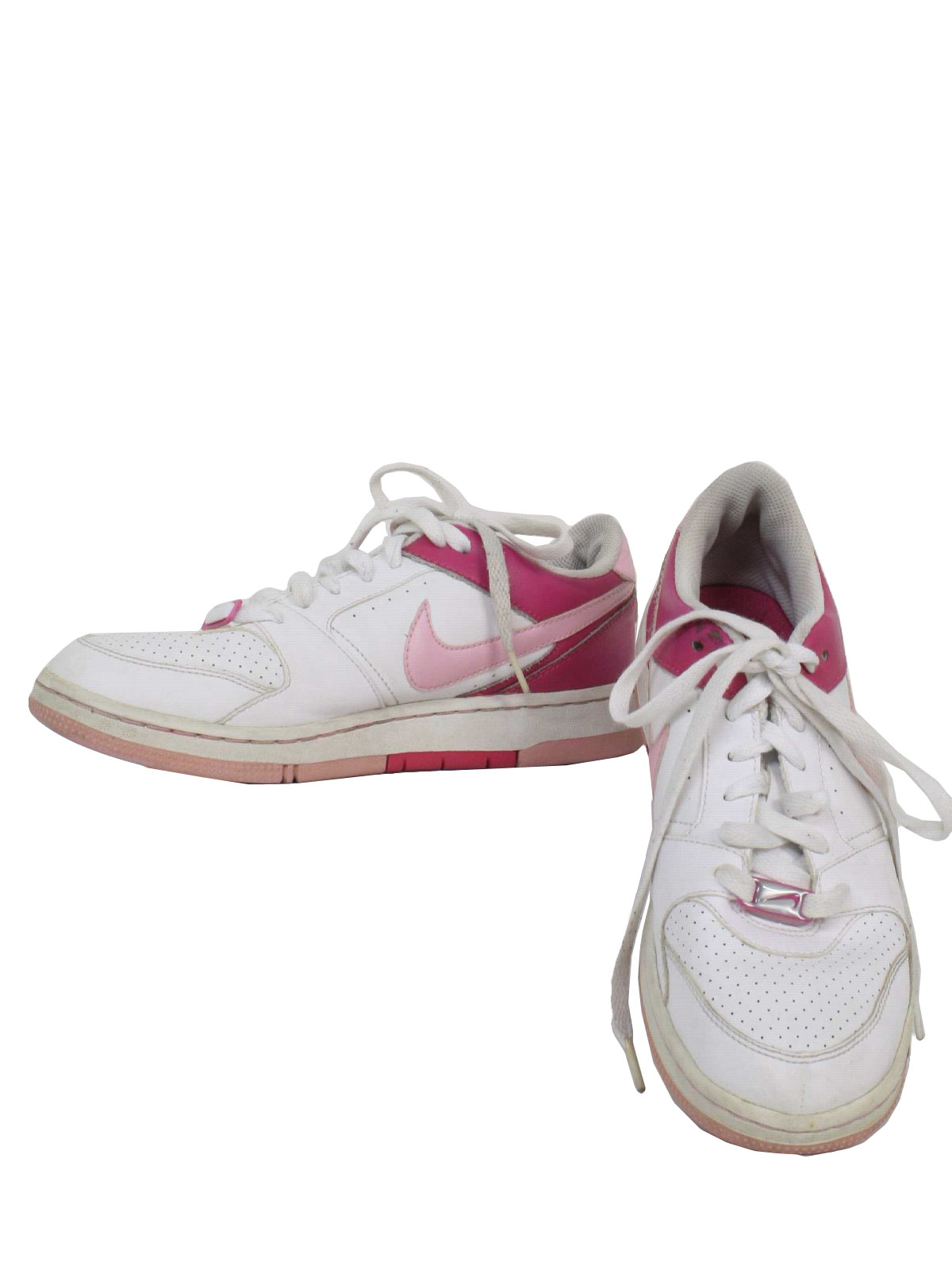 1990s Vintage Nike Shoes 90s Nike Womens Off White And