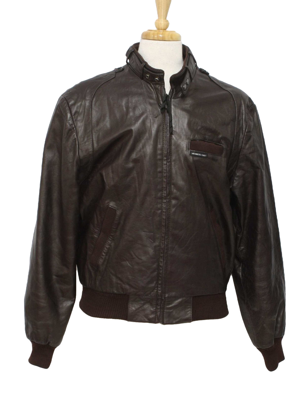 Member only leather jacket