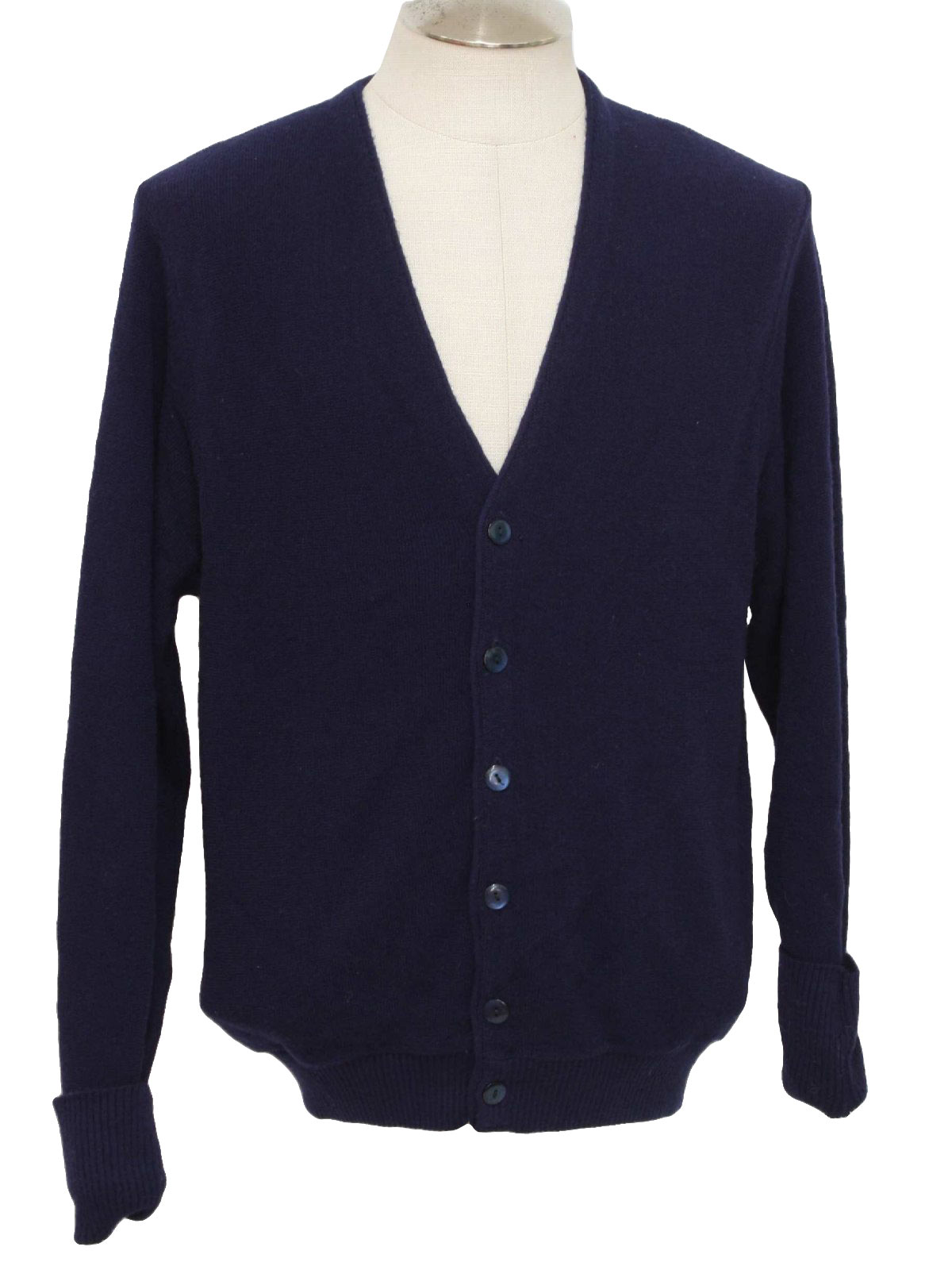 Womens Navy Blue Cardigan Australia - Cardigan With Buttons