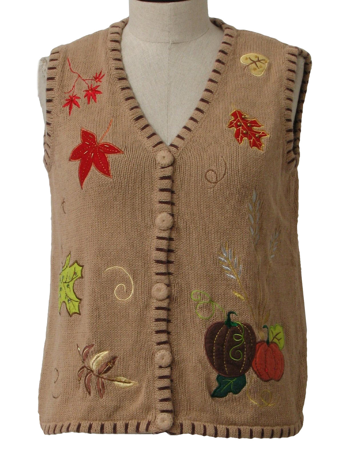 Nineties Holiday Edition Sweater: 90s -Holiday Edition- Womens tan ...