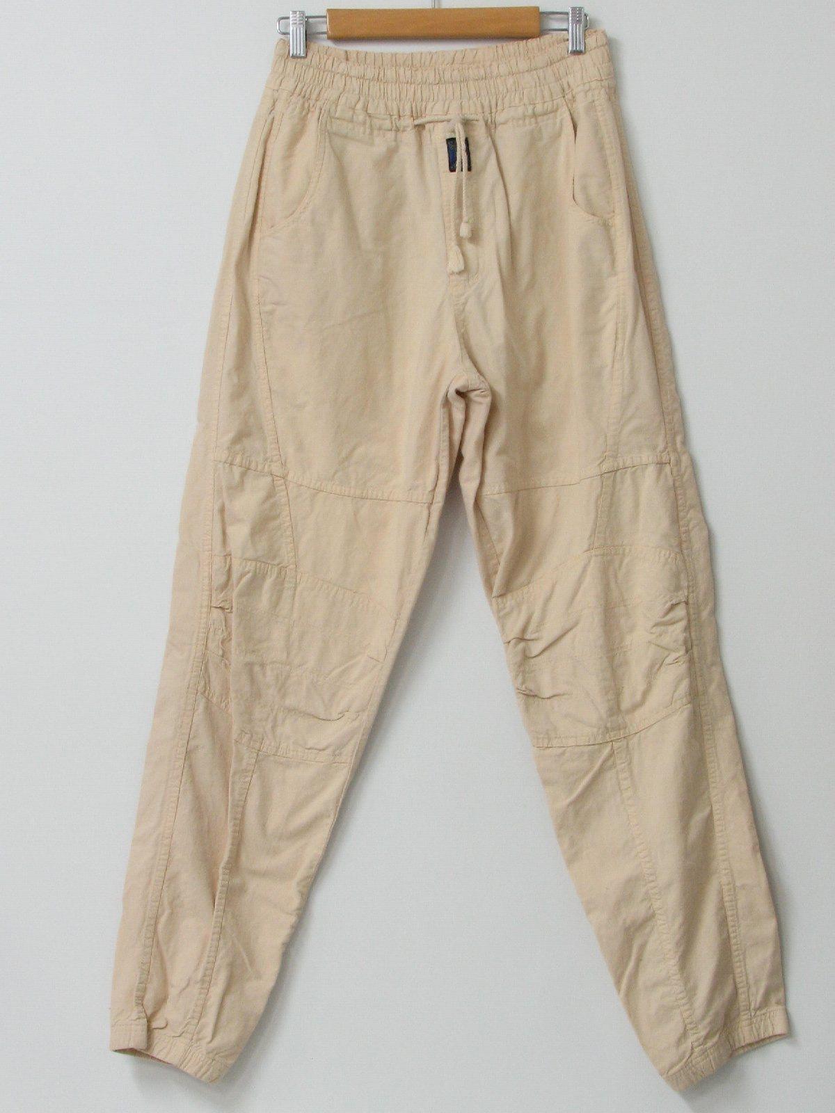 Nineties Vintage Pants: 90s -Buggle Boy- Mens khaki tan thick ...