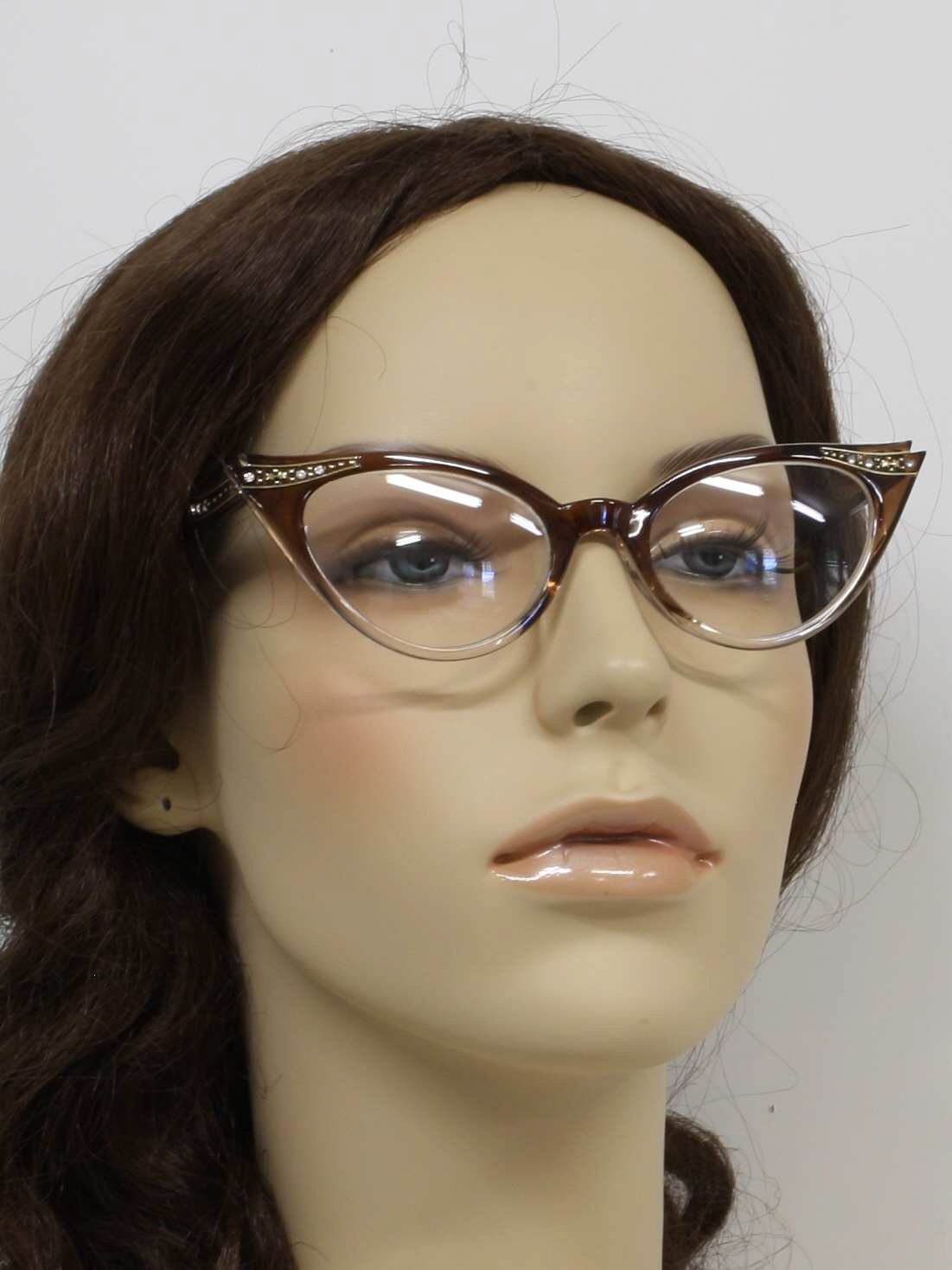 1e8c91aff5 1940 s Retro Glasses  40s reproduction (made new) -Cat Eye Clear ...