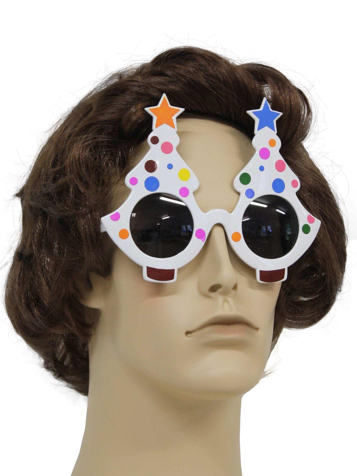 Accessories Polka Dot Christmas Tree Sunglasses To Wear