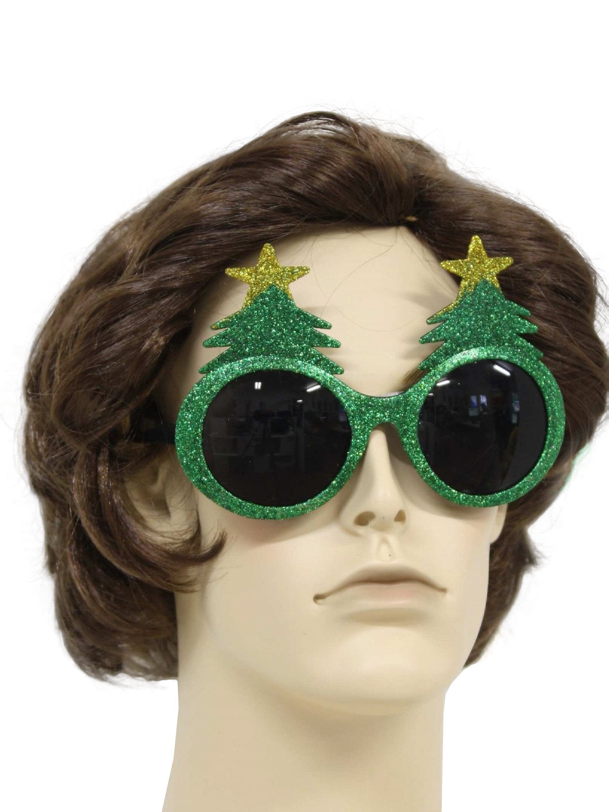 Accessories Glittery Christmas Tree Sunglasses To Wear