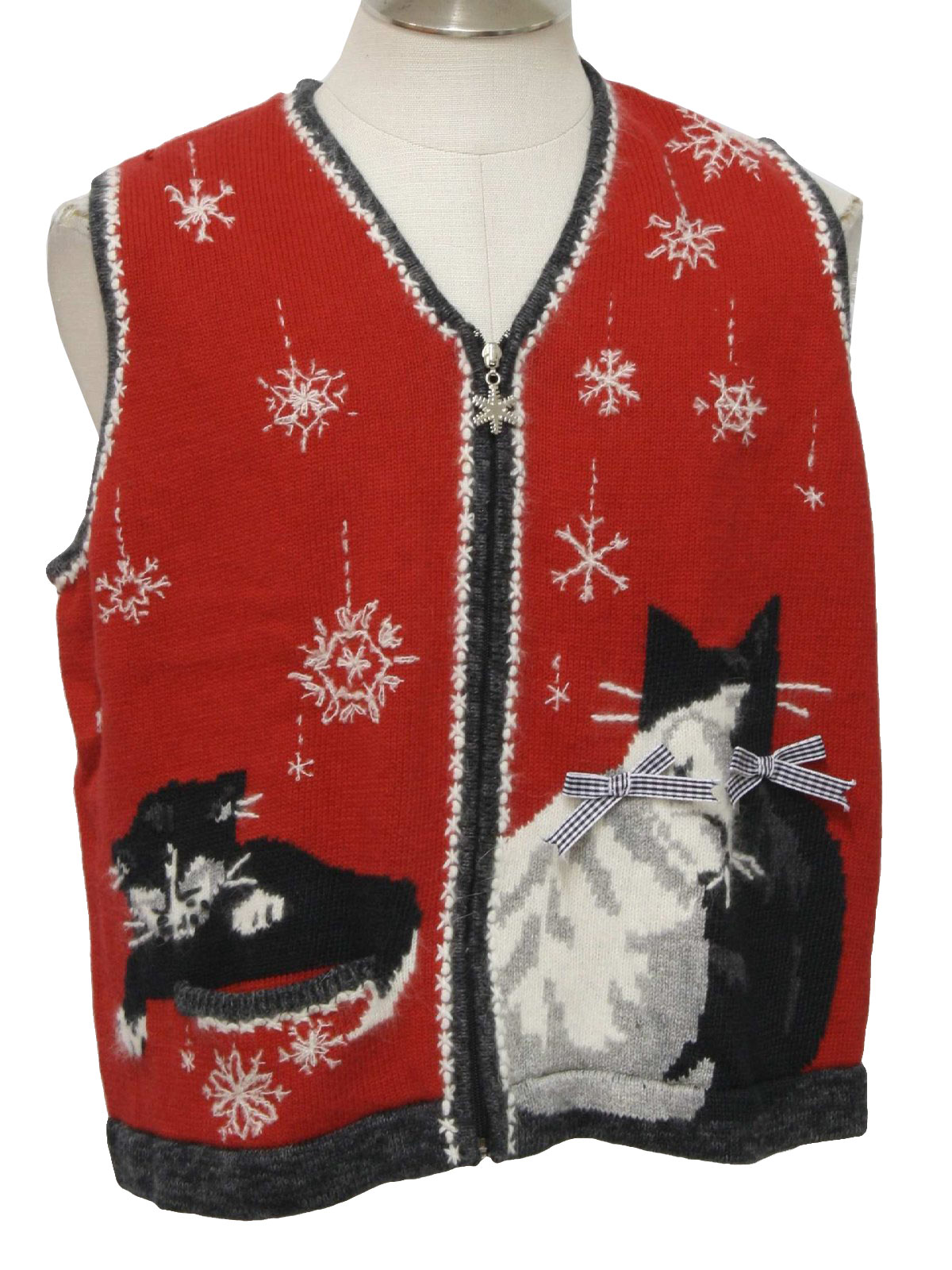 Kitten christmas sweater. Cheap clothing stores