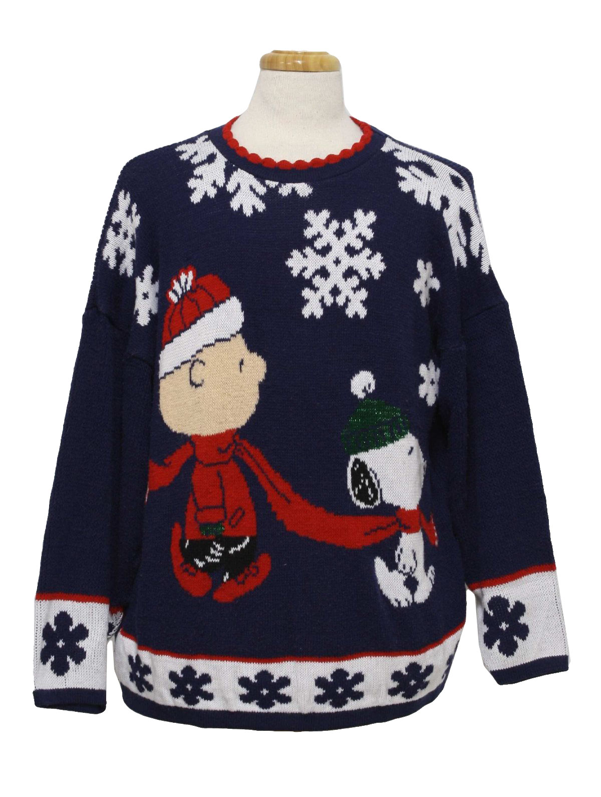 Eighties Snoopy and Friends Ugly Christmas Sweater : 80s authentic ...