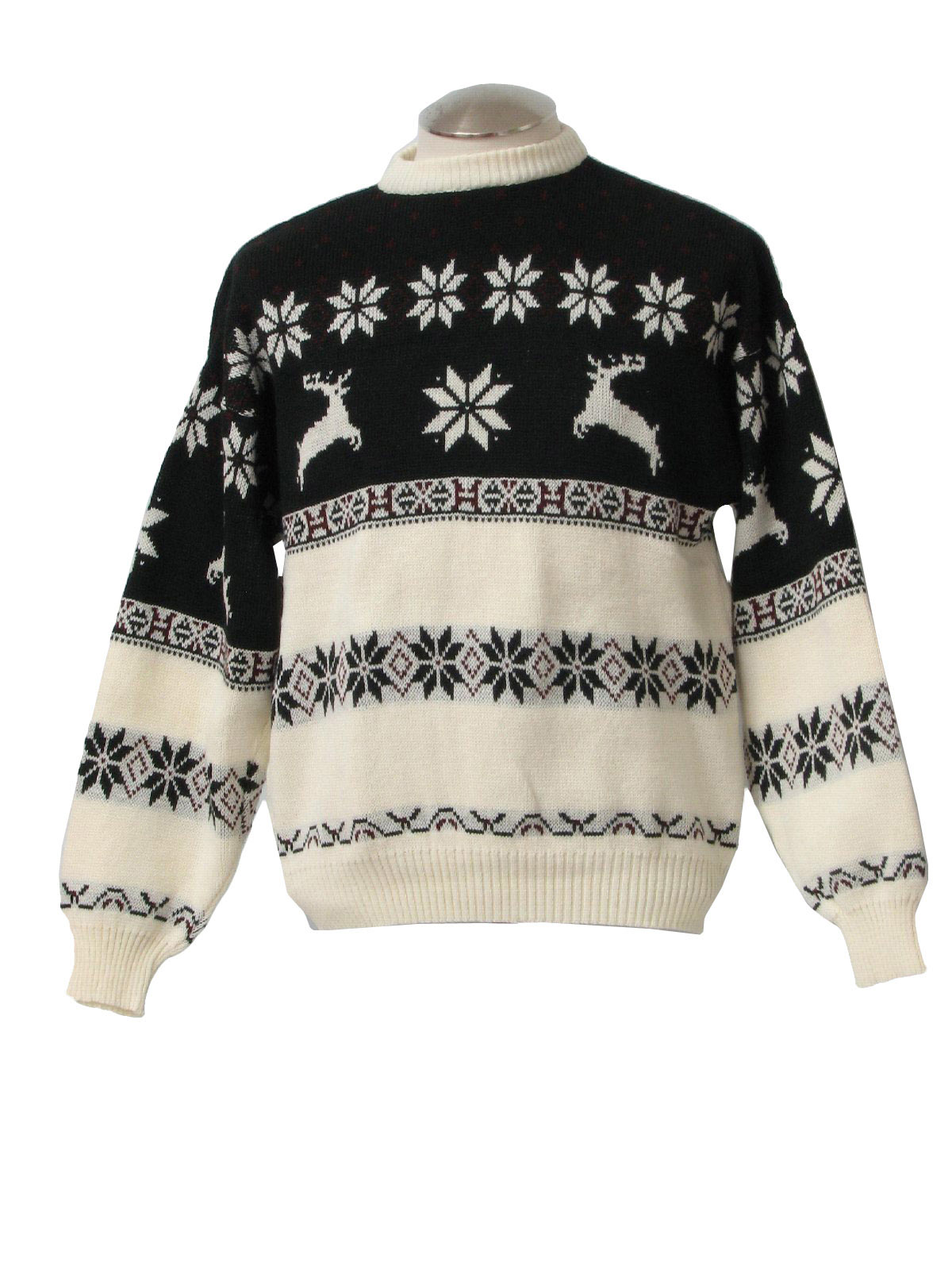 Womens Reindeer Sweater