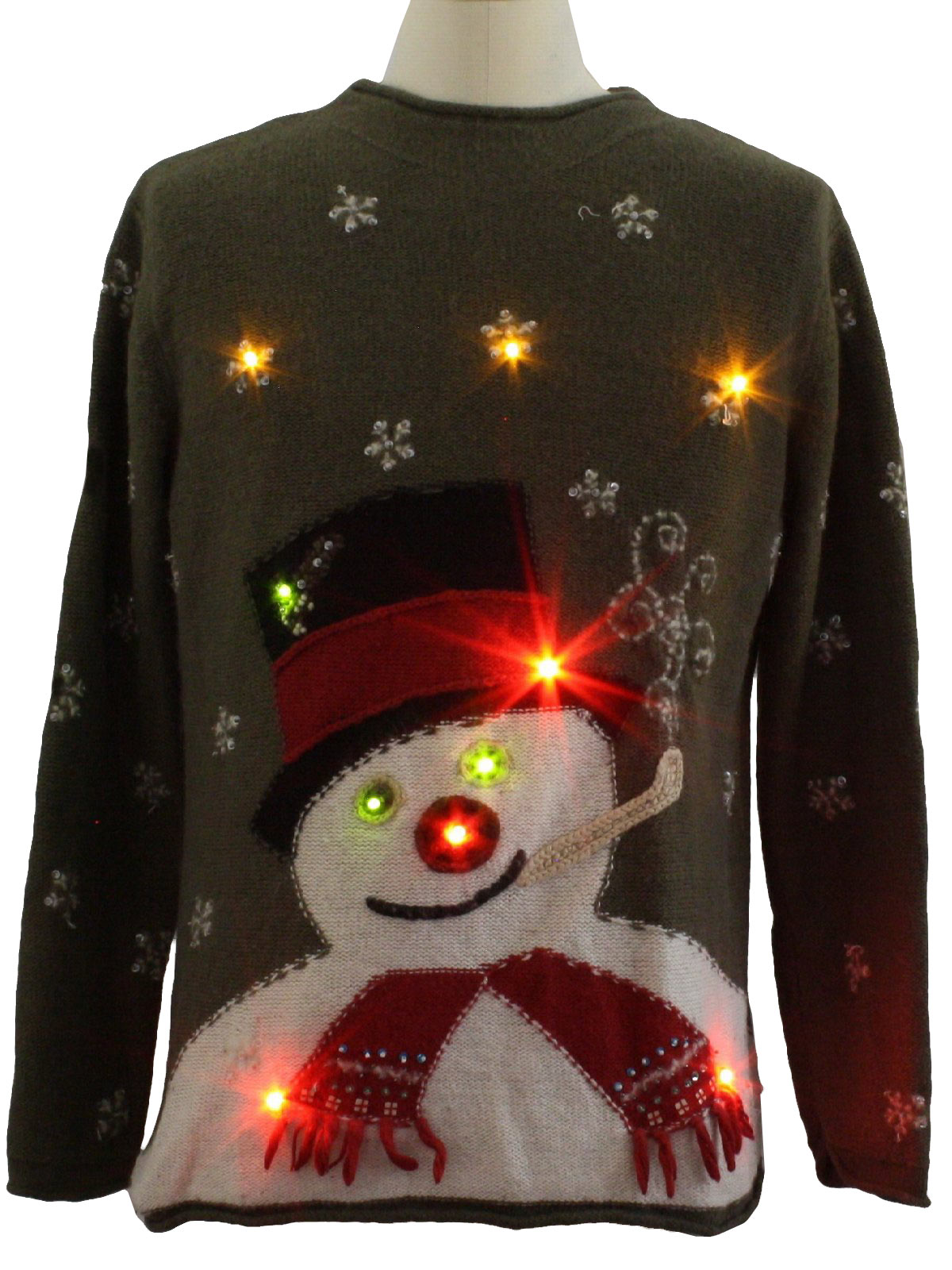Susan Bristol Unisex Lightup Ugly Christmas Sweater $86.00 Not in stock. Item No. 236923
