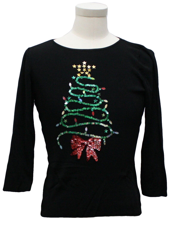 Womens Ugly Christmas Sweater Shirt Sweaterworks Womens