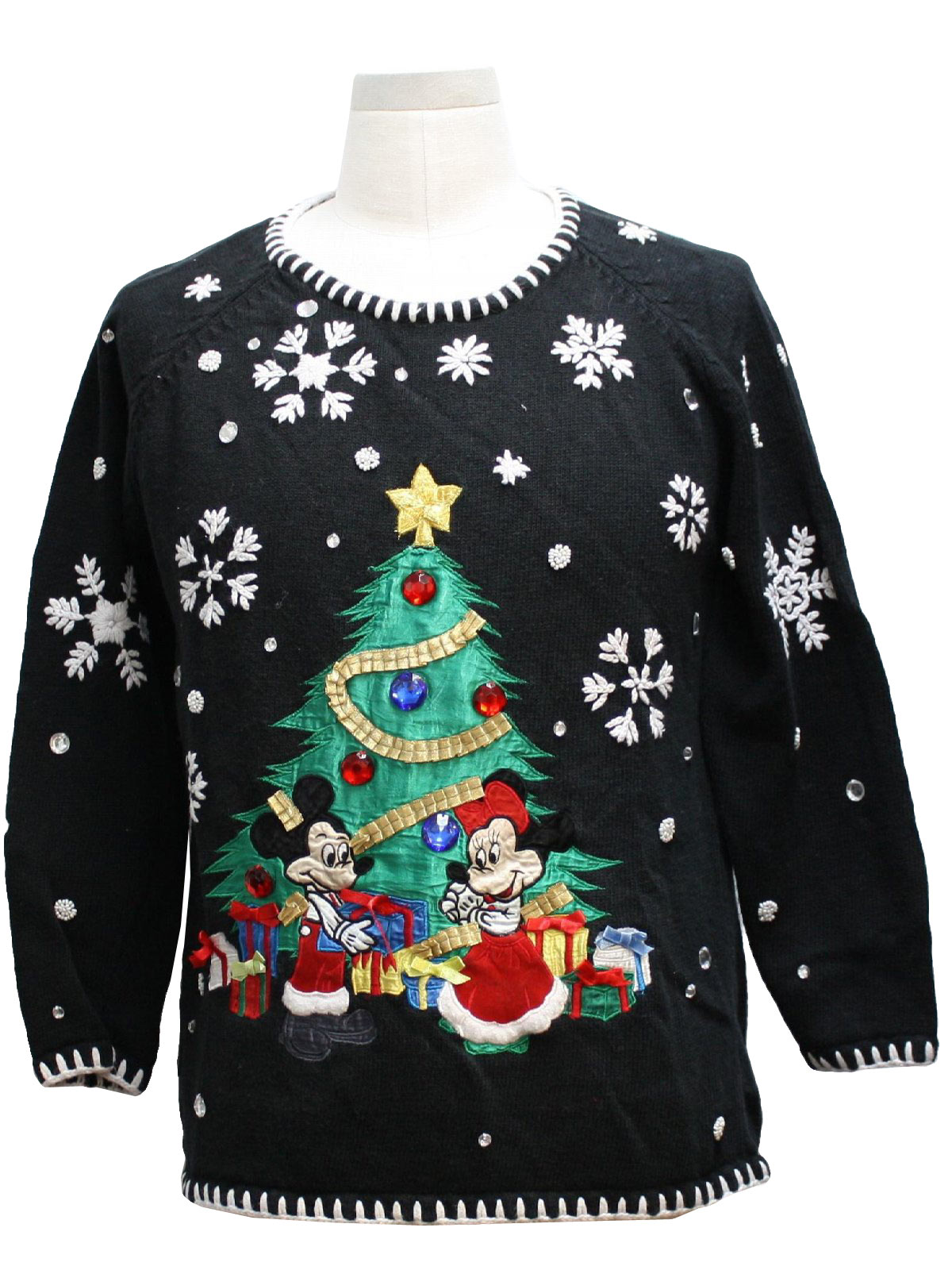 1990's Retro Mickey Mouse Ugly Christmas Sweater: 90s Authentic ...