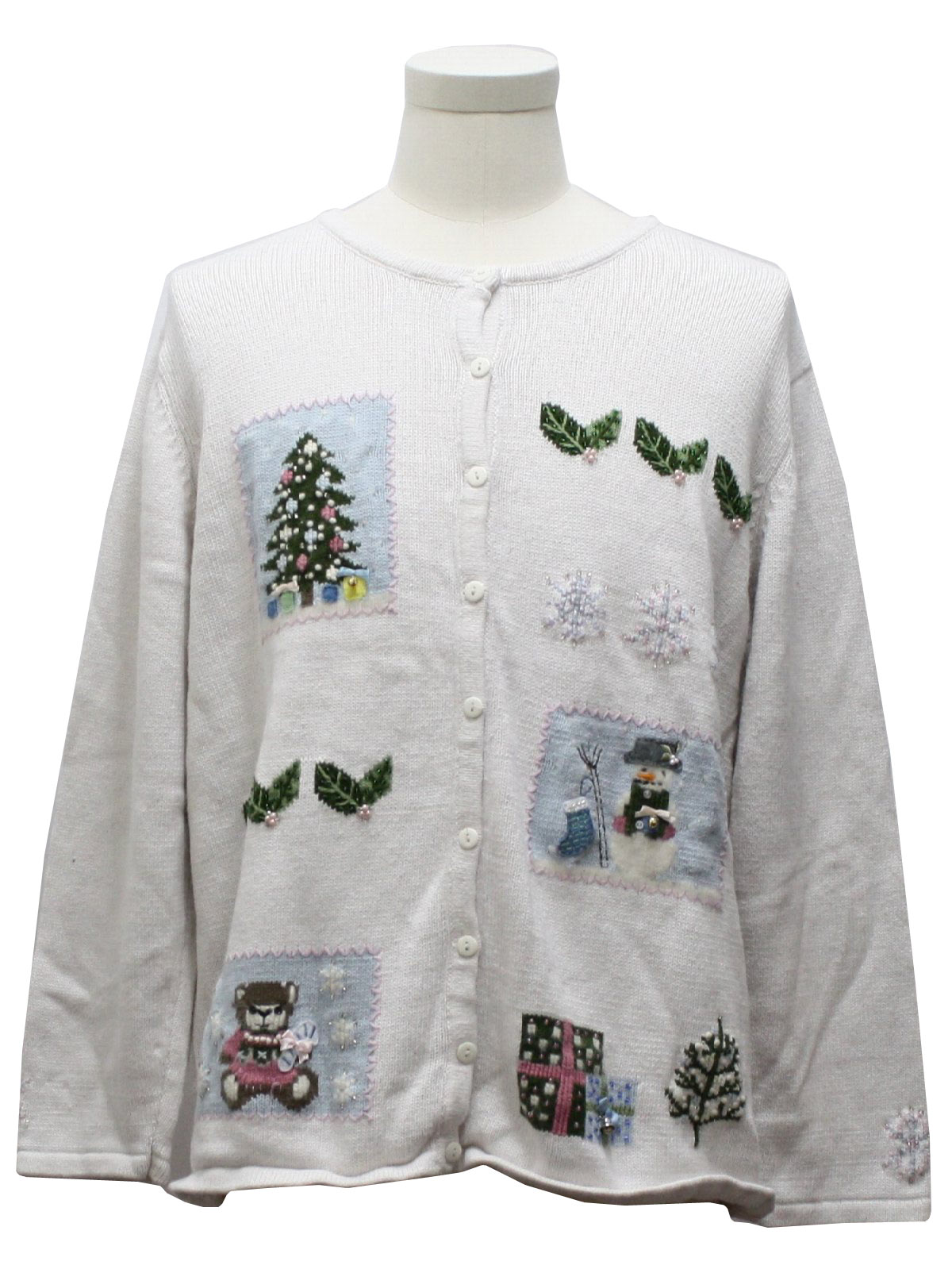 Womens Ugly Christmas Sweater Classics By Marisa