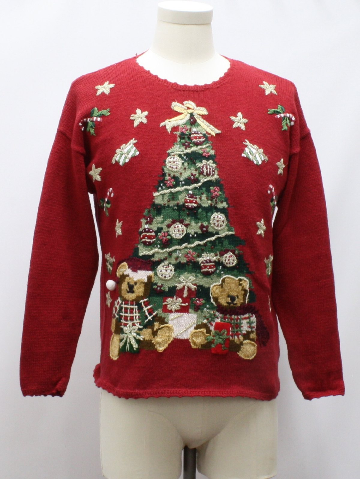Womens Ugly Bearrific Christmas Sweater: -Heirloom Collection ...