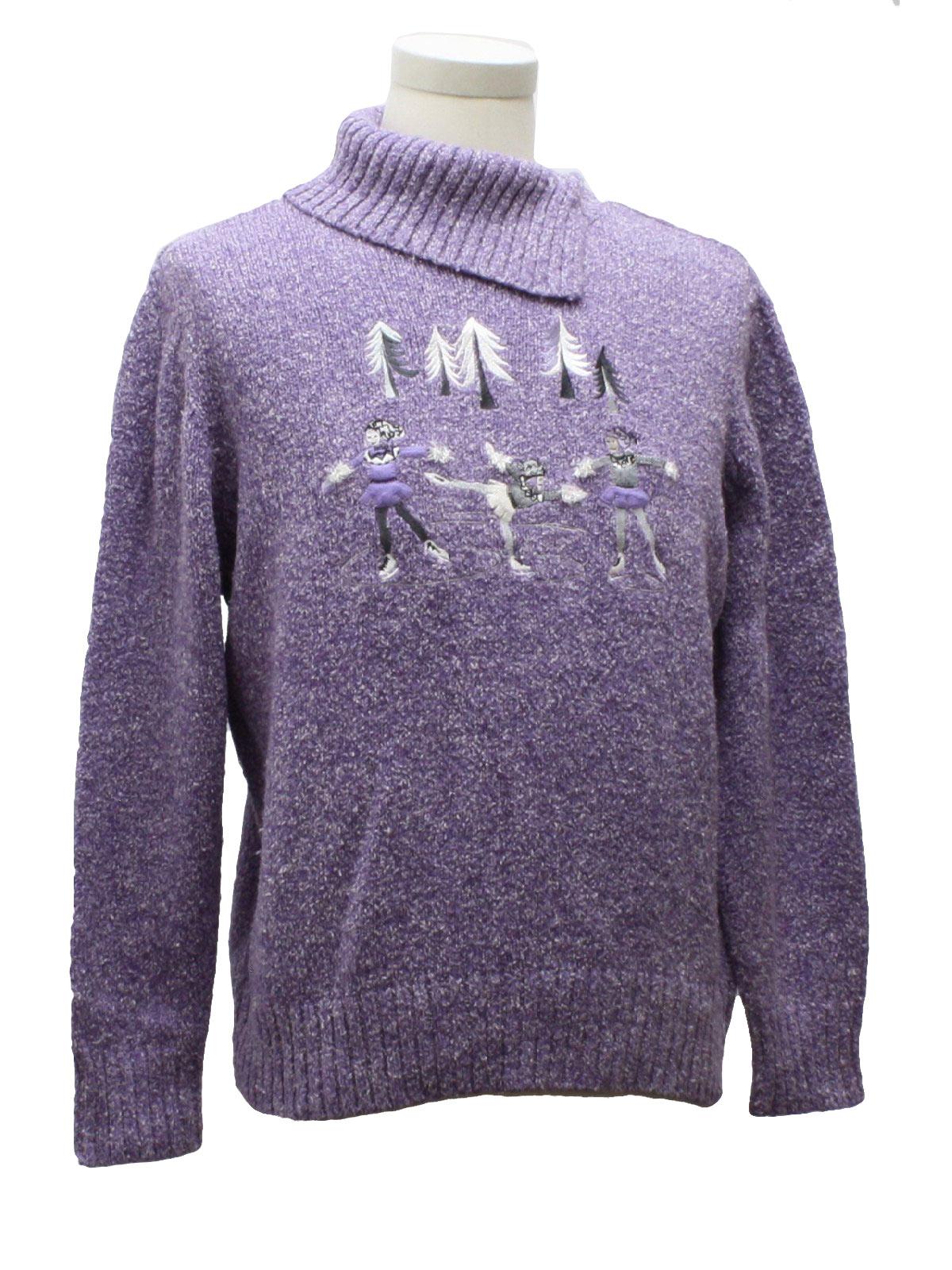 Womens Ugly Christmas Sweater: -TanJay- Womens purple background ...