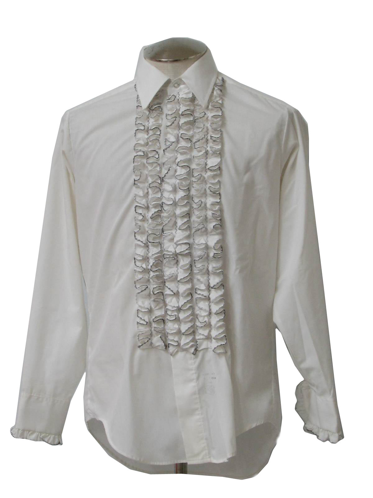 1970s Vintage Shirt 70s Lion Of Troy Mens White