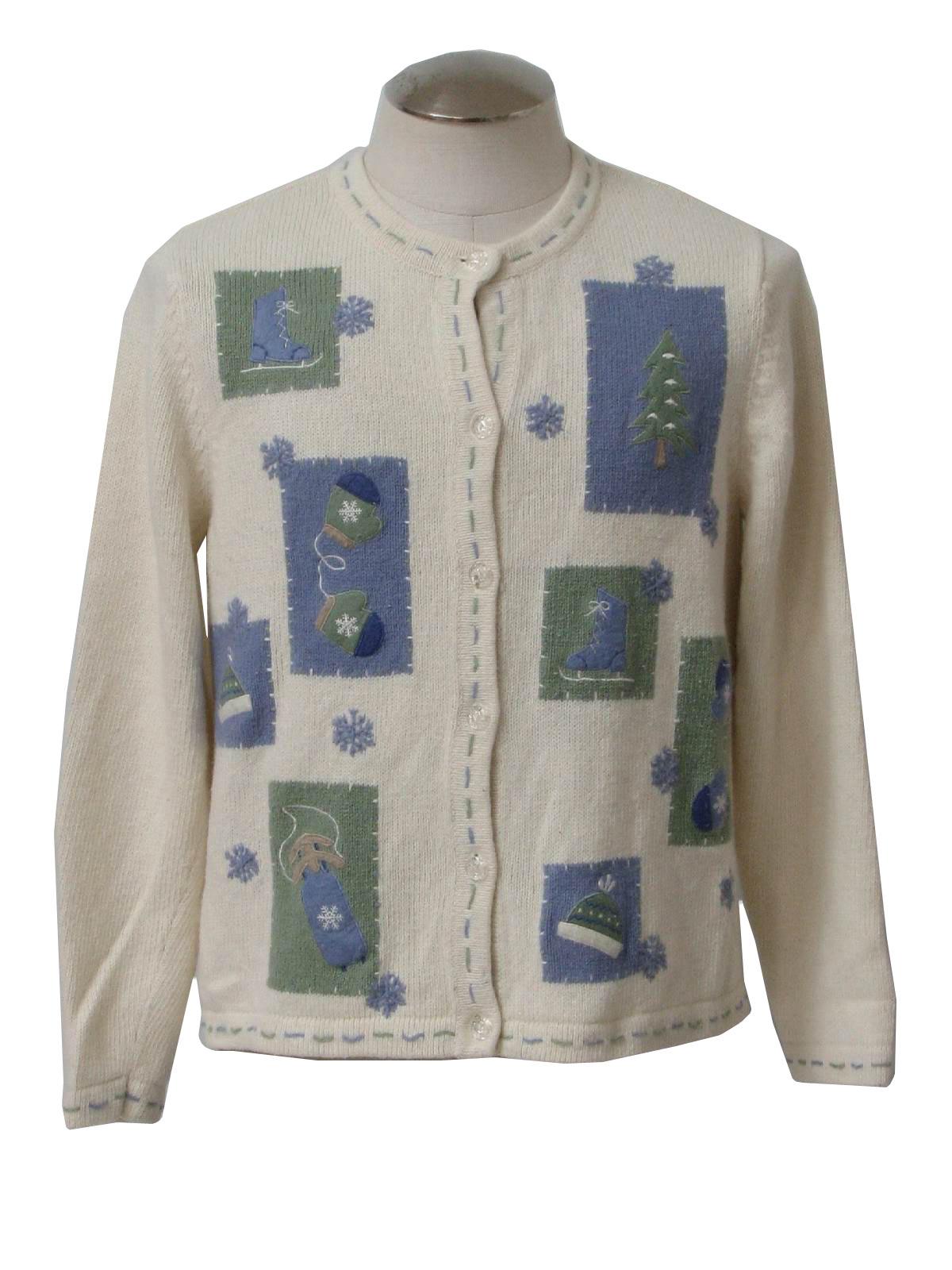 White Ramie Sweater 66