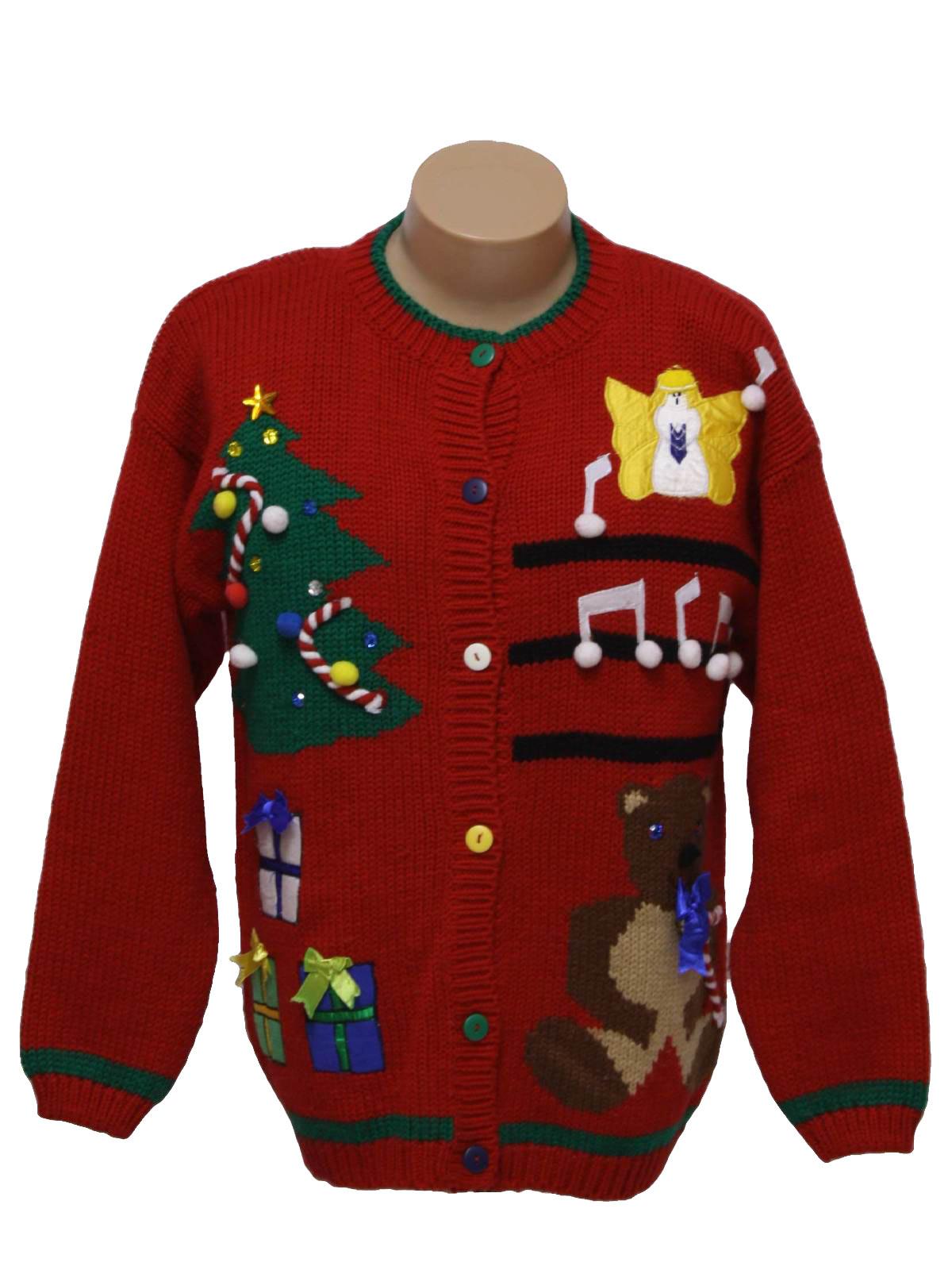 80s christmas sweater