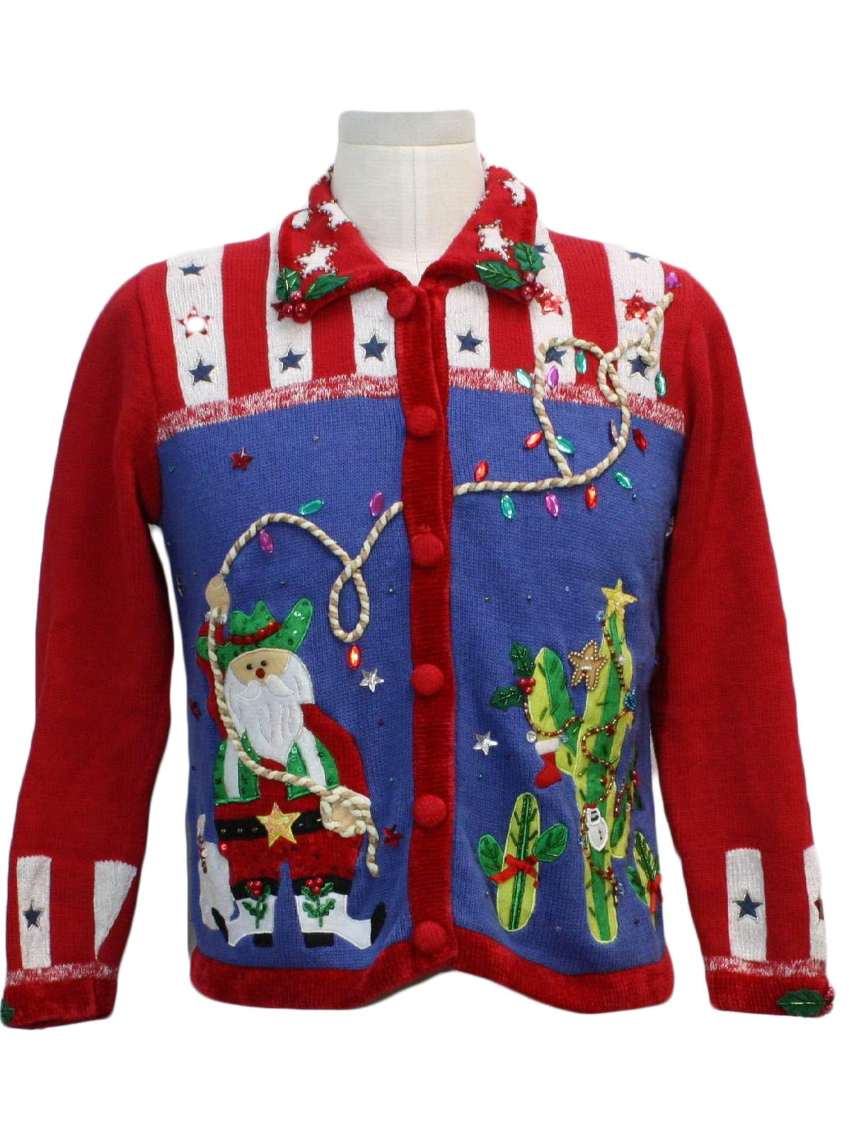 Patriotic Christmas Background.Berek Womens Western Themed Patriotic Ugly Christmas Sweater