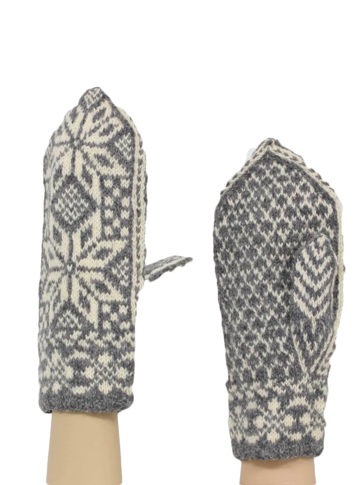 Vintage 40 S Gloves 40s No Label Mens Gray White