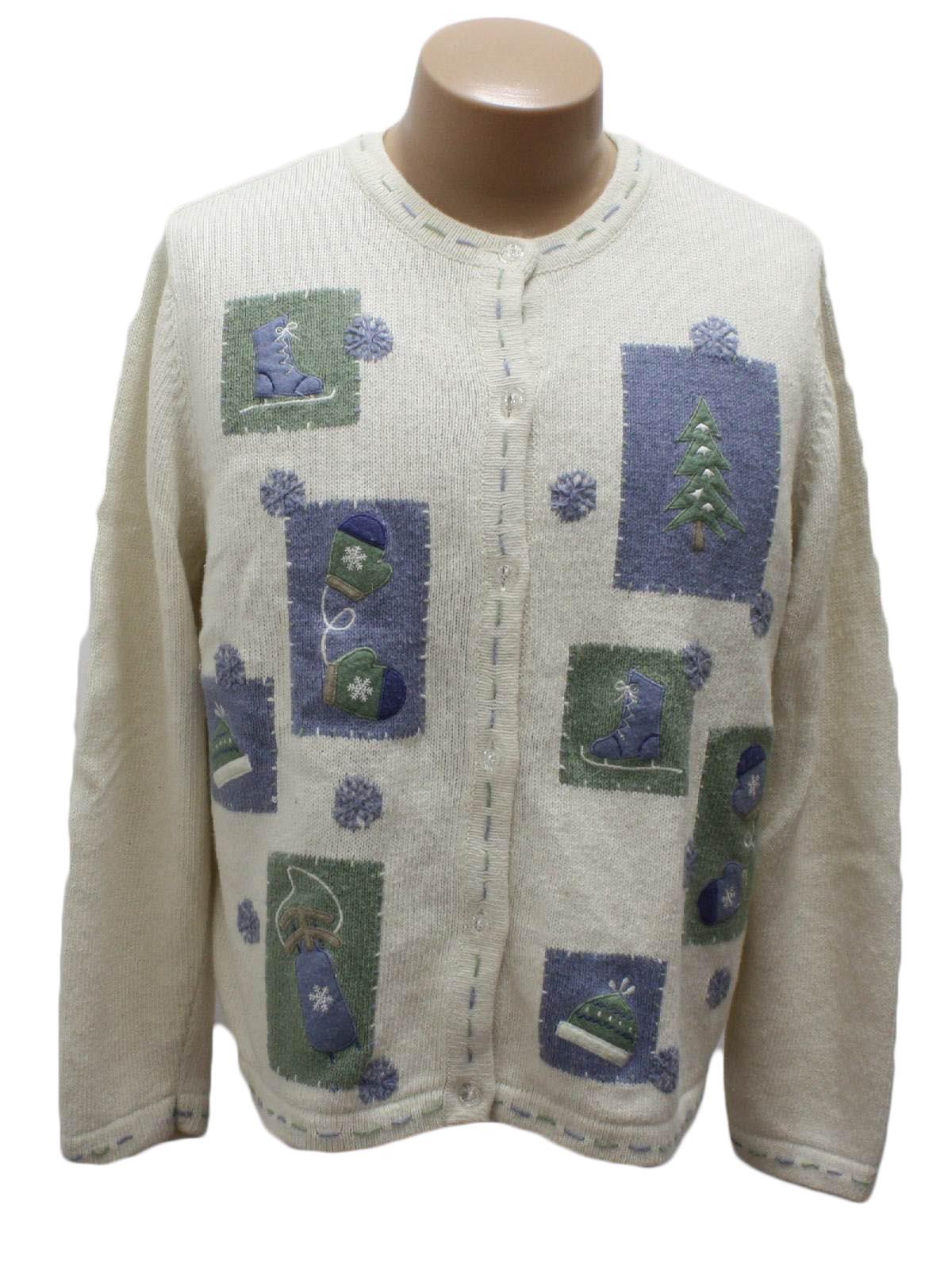 White Ramie Sweater 89