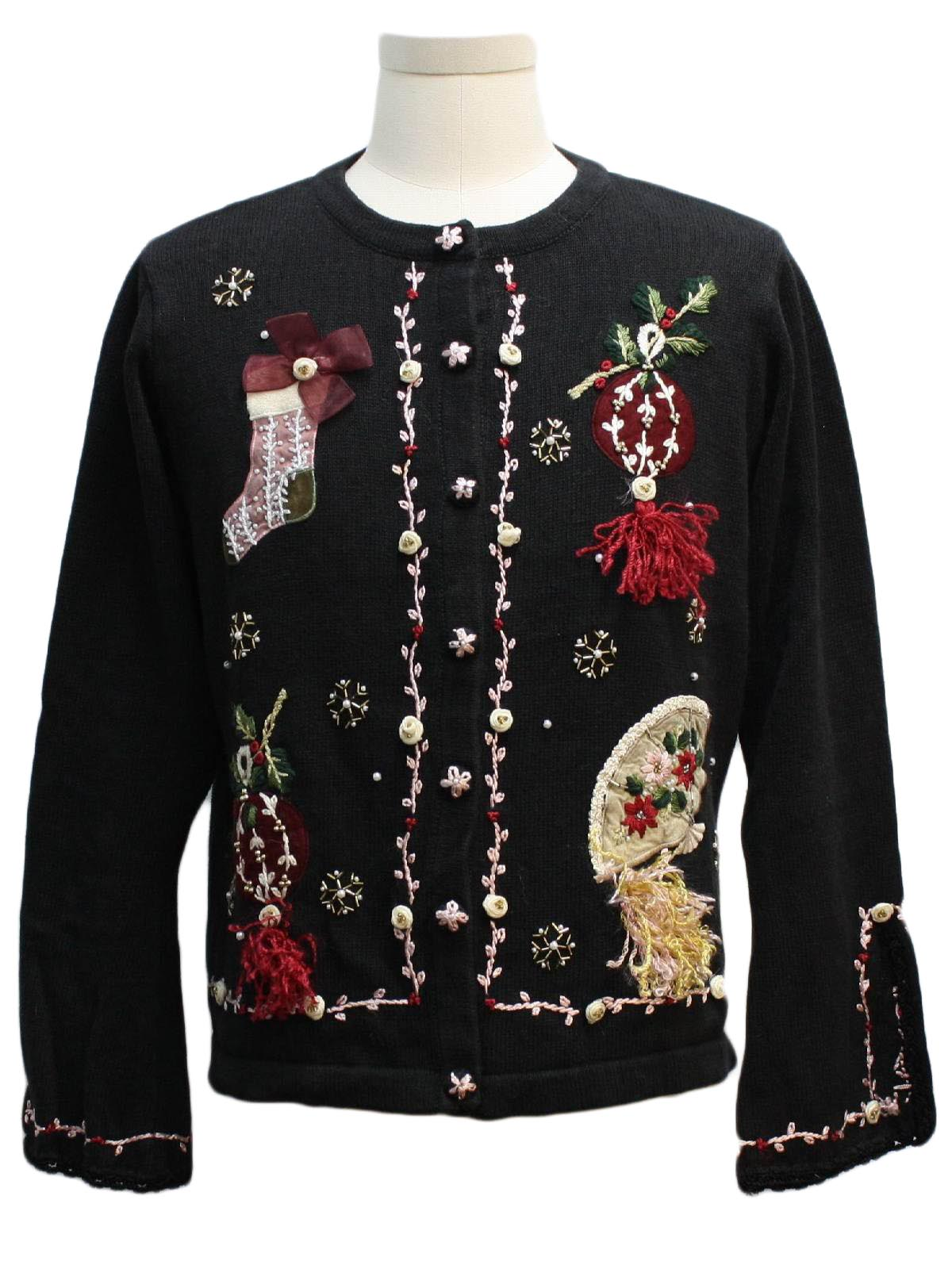 Womens Ugly Christmas Sweater: -Victoria Jones- Womens ...